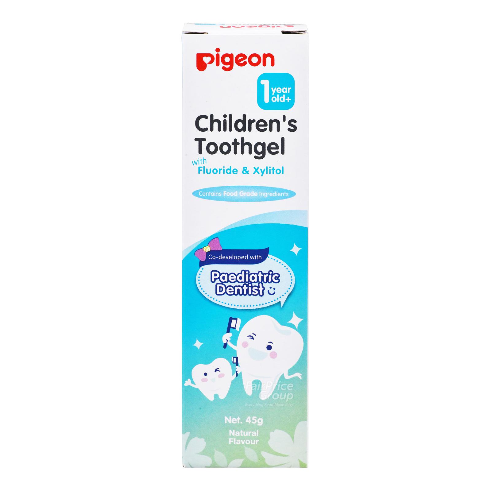 Pigeon Children's Toothgel - Natural