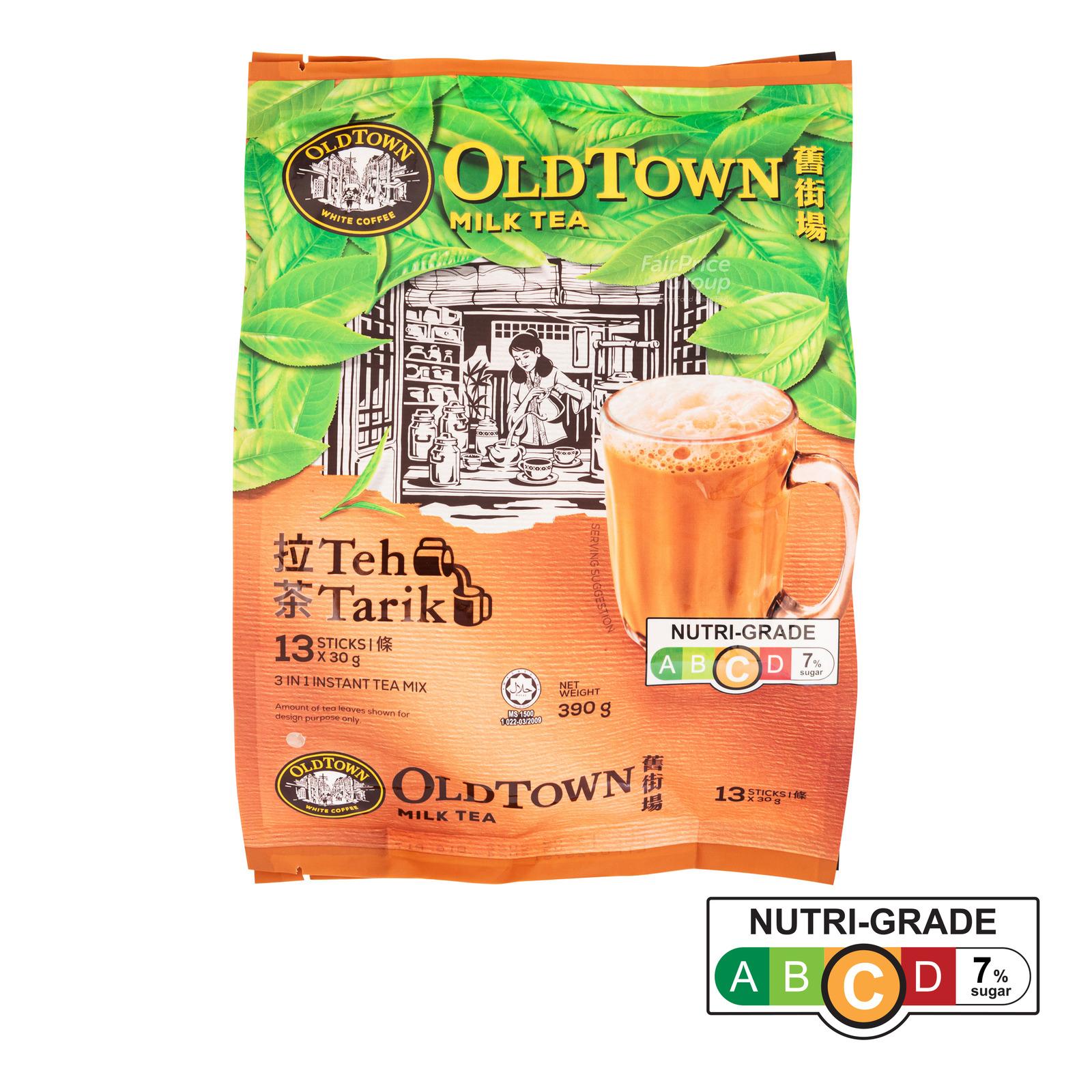 Old Town 3 in 1 Instant Premix Milk Tea - Teh Tarik