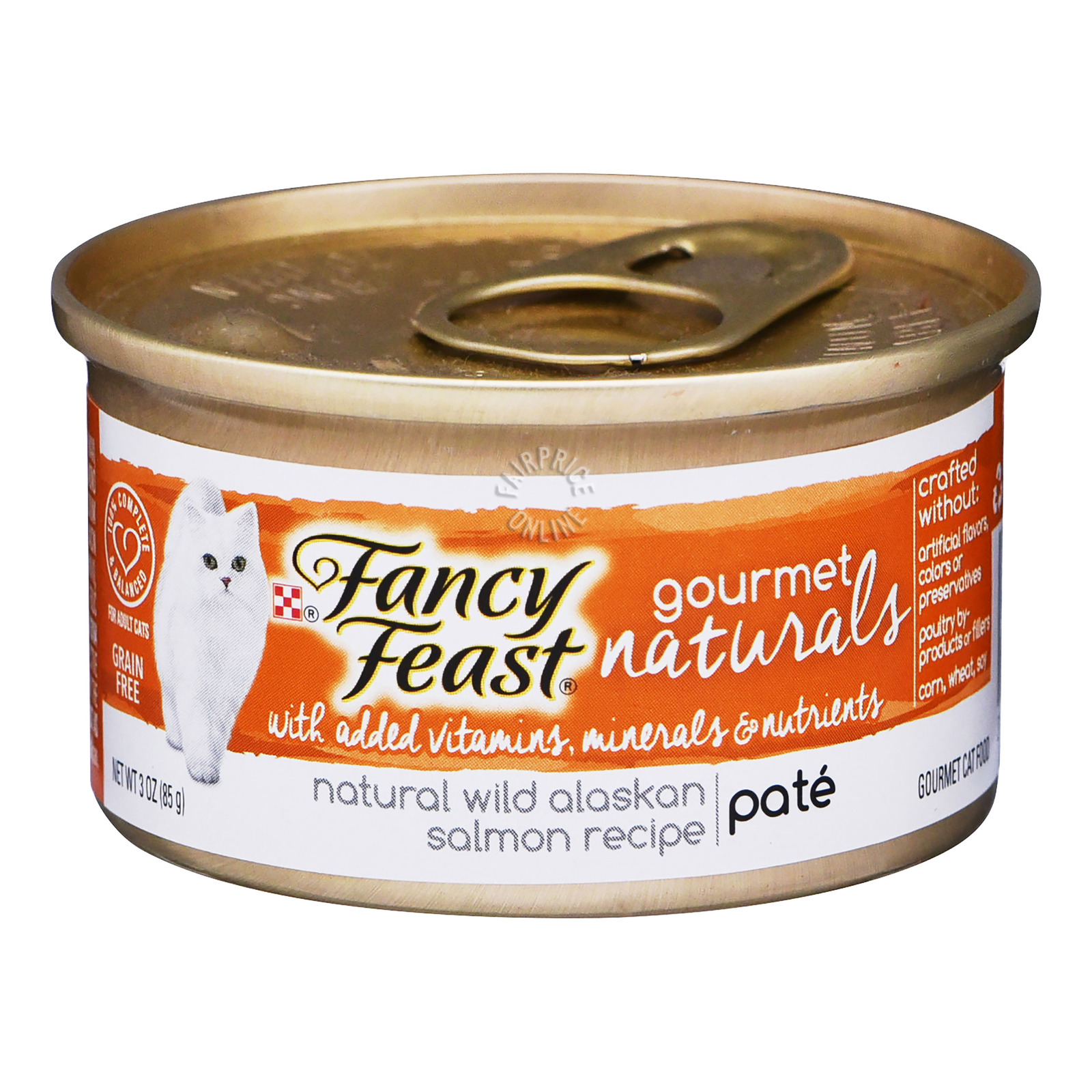 Fancy Feast Gourmet Naturals Cat Food - Wild Alaskan Salmon