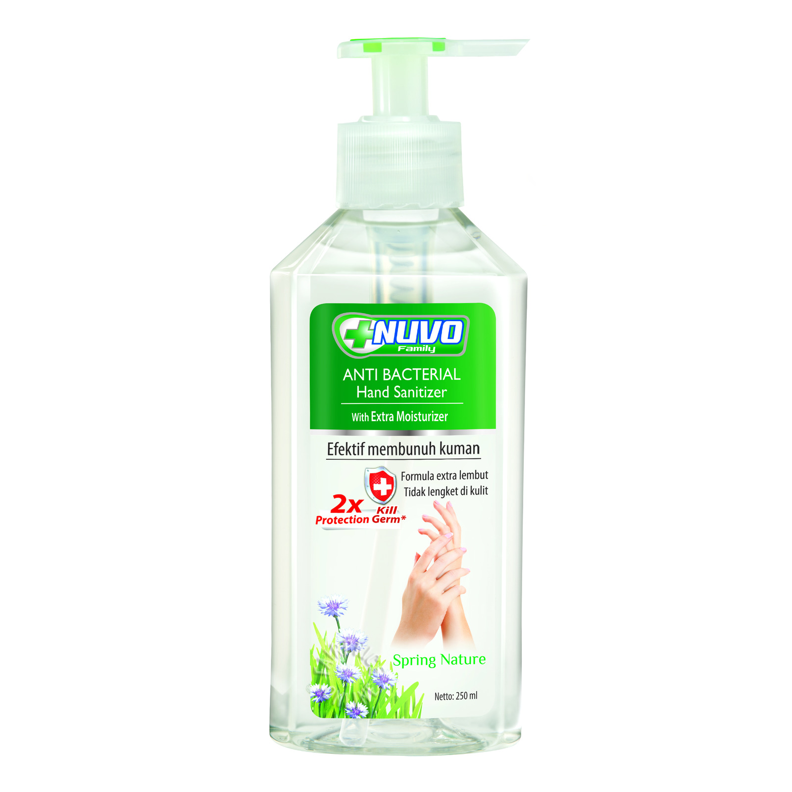 Nuvo Anti Bacterial Hand Sanitizer - Spring Nature