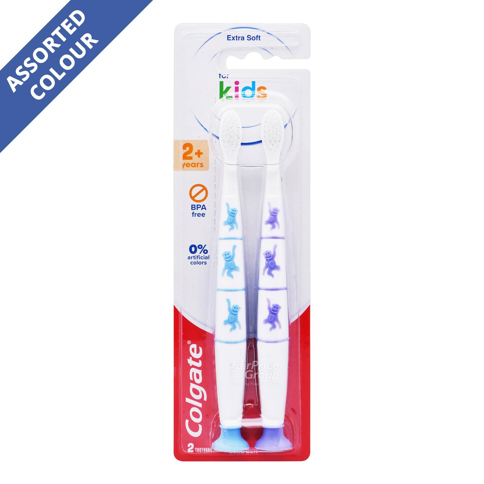 Colgate Kids Zero Toothbrush 2+ Years Valuepack - Extra Soft