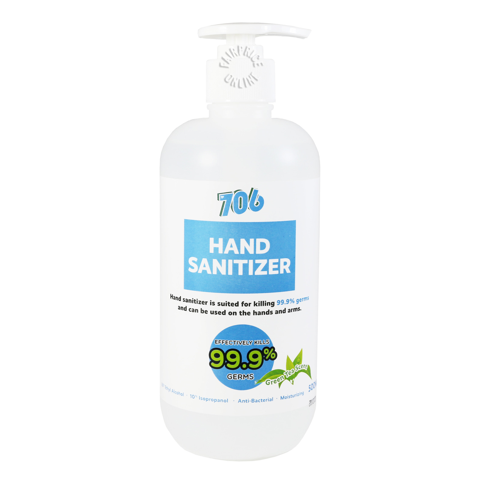 706 Anti-Bacterial Hand Sanitizer - Green Tea