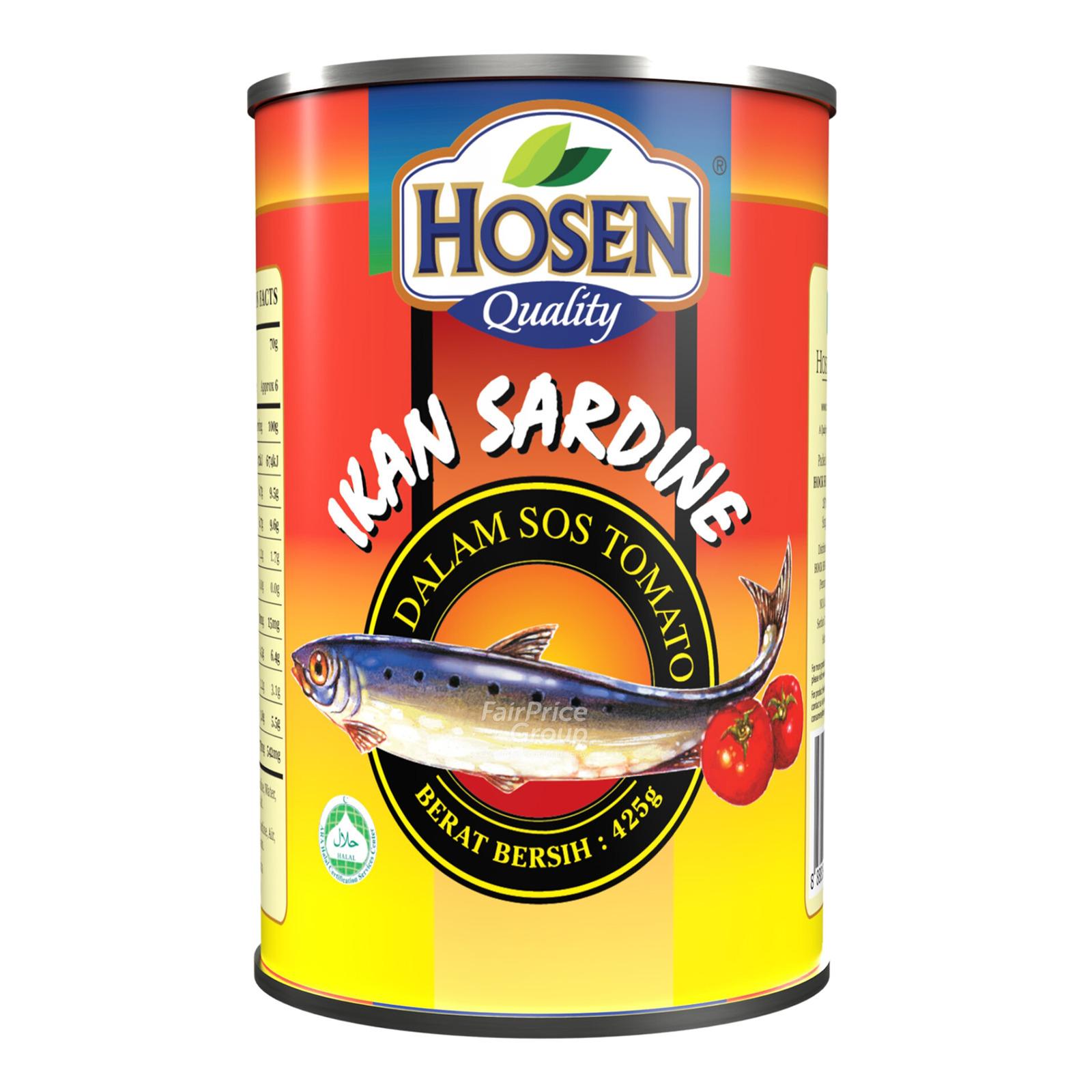 Hosen Sardine in Tomato Sauce