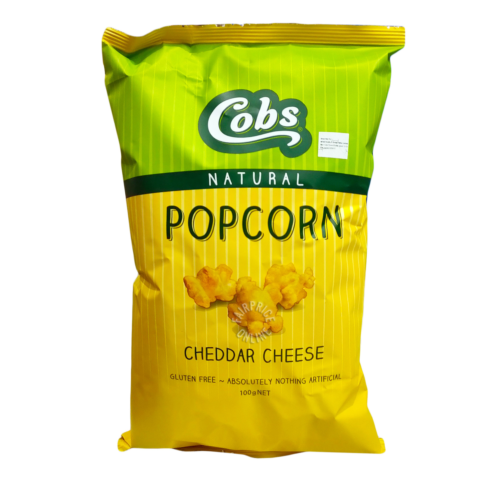 Cobs Natural Popcorn - Cheddar Cheese