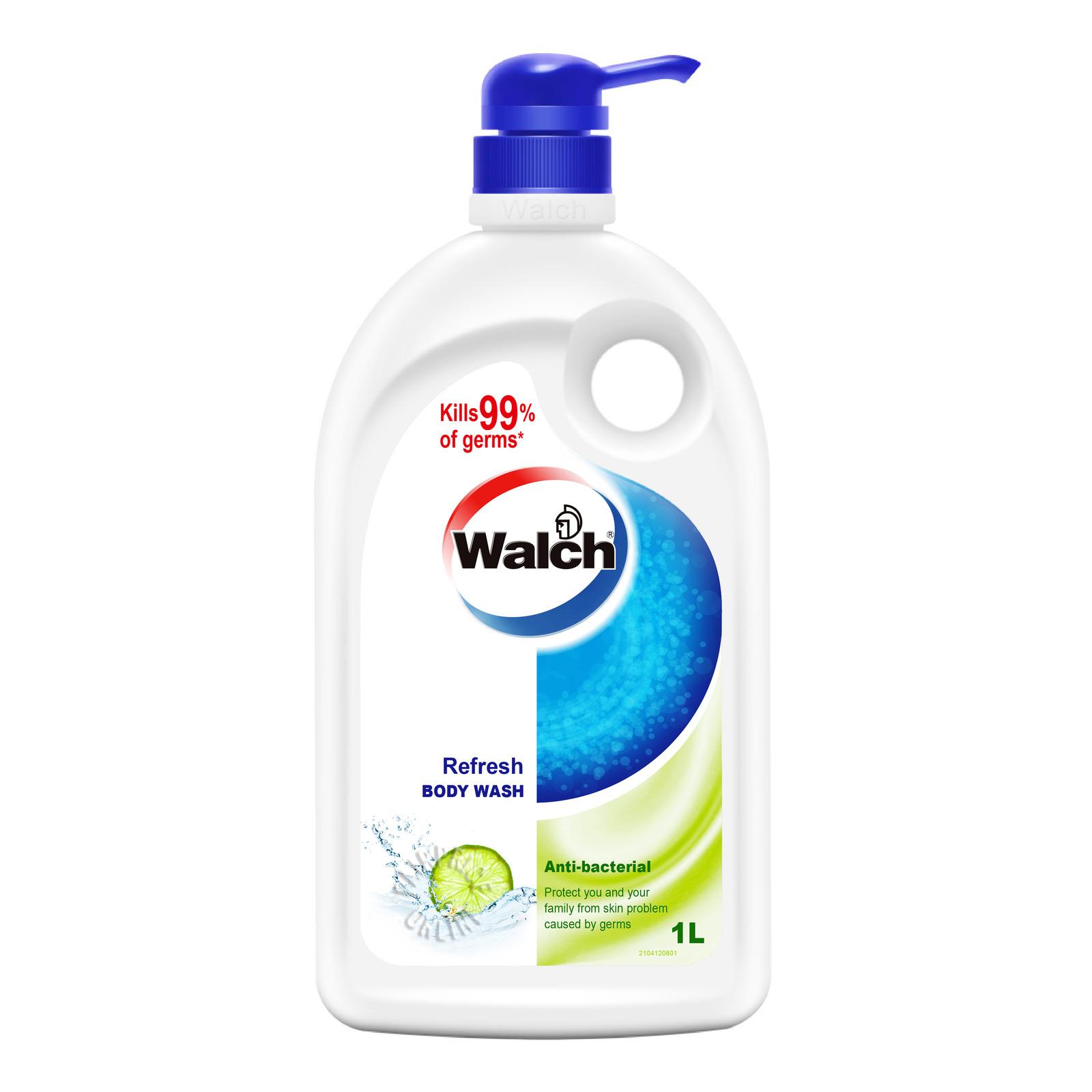 Walch Anti-bacterial Body Wash - Refresh