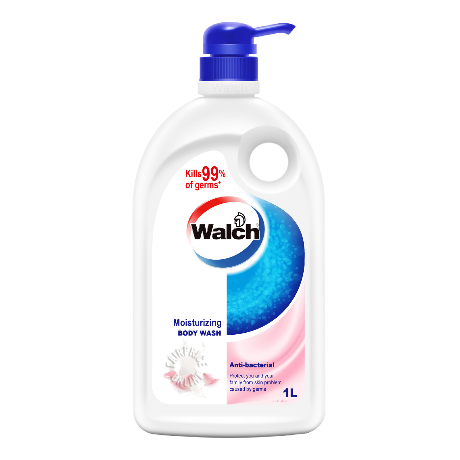 Walch Anti-bacterial Body Wash - Moisturizing