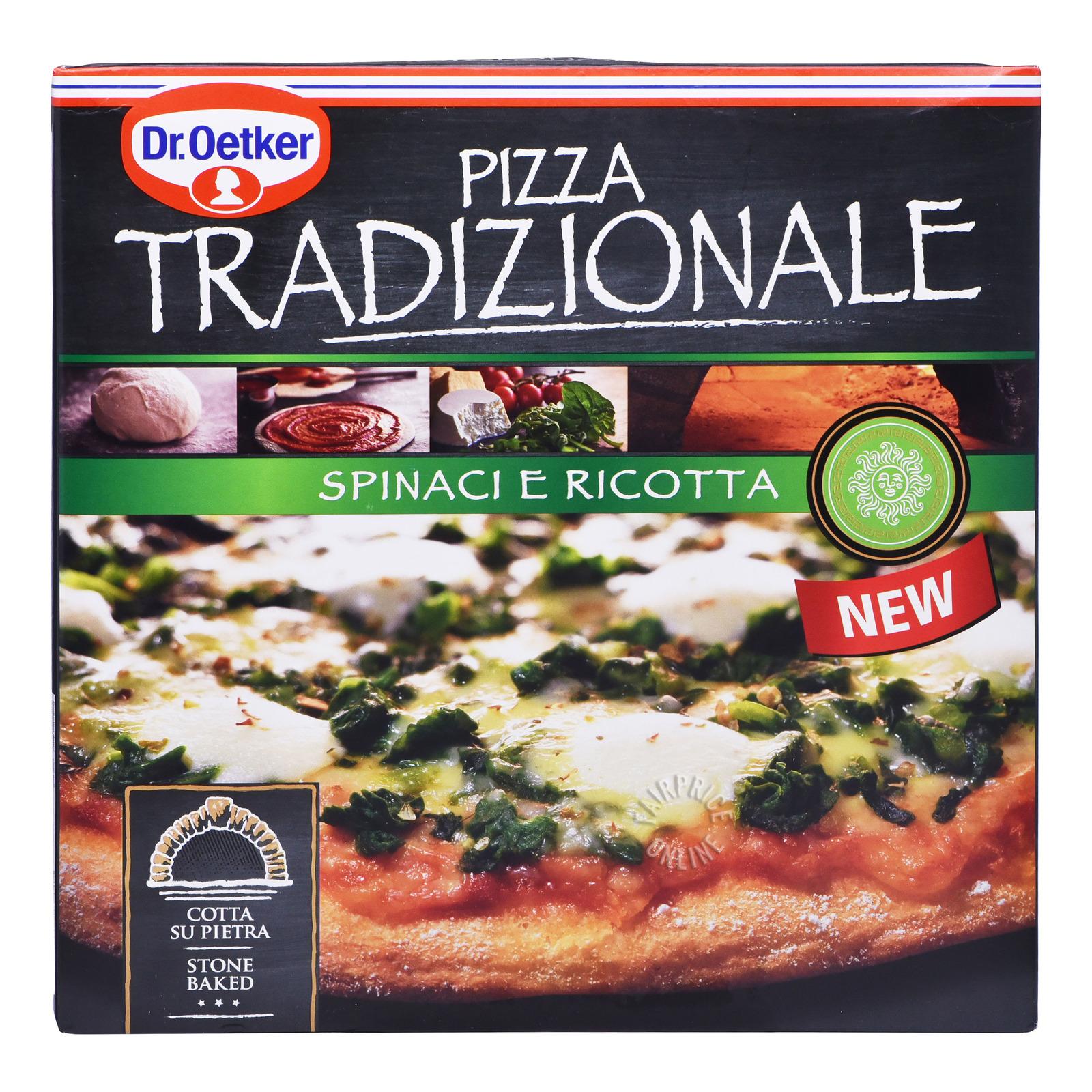 Dr Oetker Tradizionale Pizza - Spinaci E Ricotta