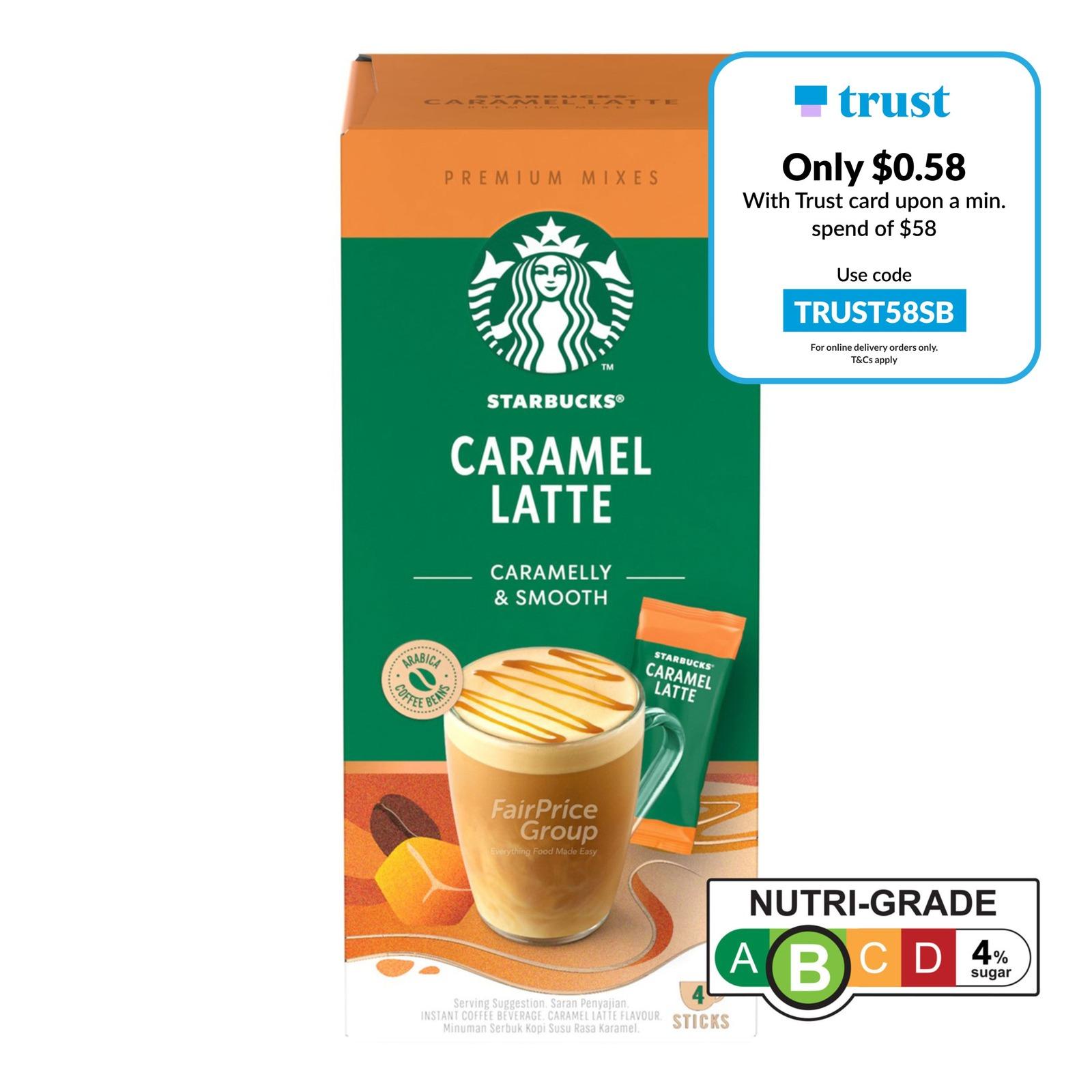 Starbucks Instant Premium Mixes - Caramel Latte
