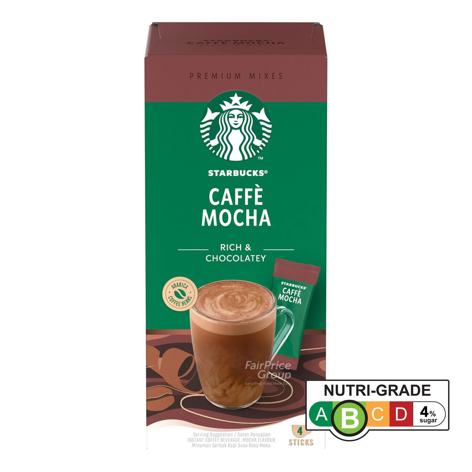 Starbucks Instant Premium Mixes - Caffe Mocha