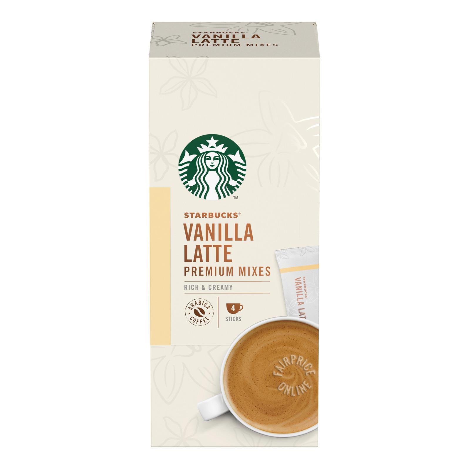 Starbucks Instant Premium Mixes - Vanilla Latte
