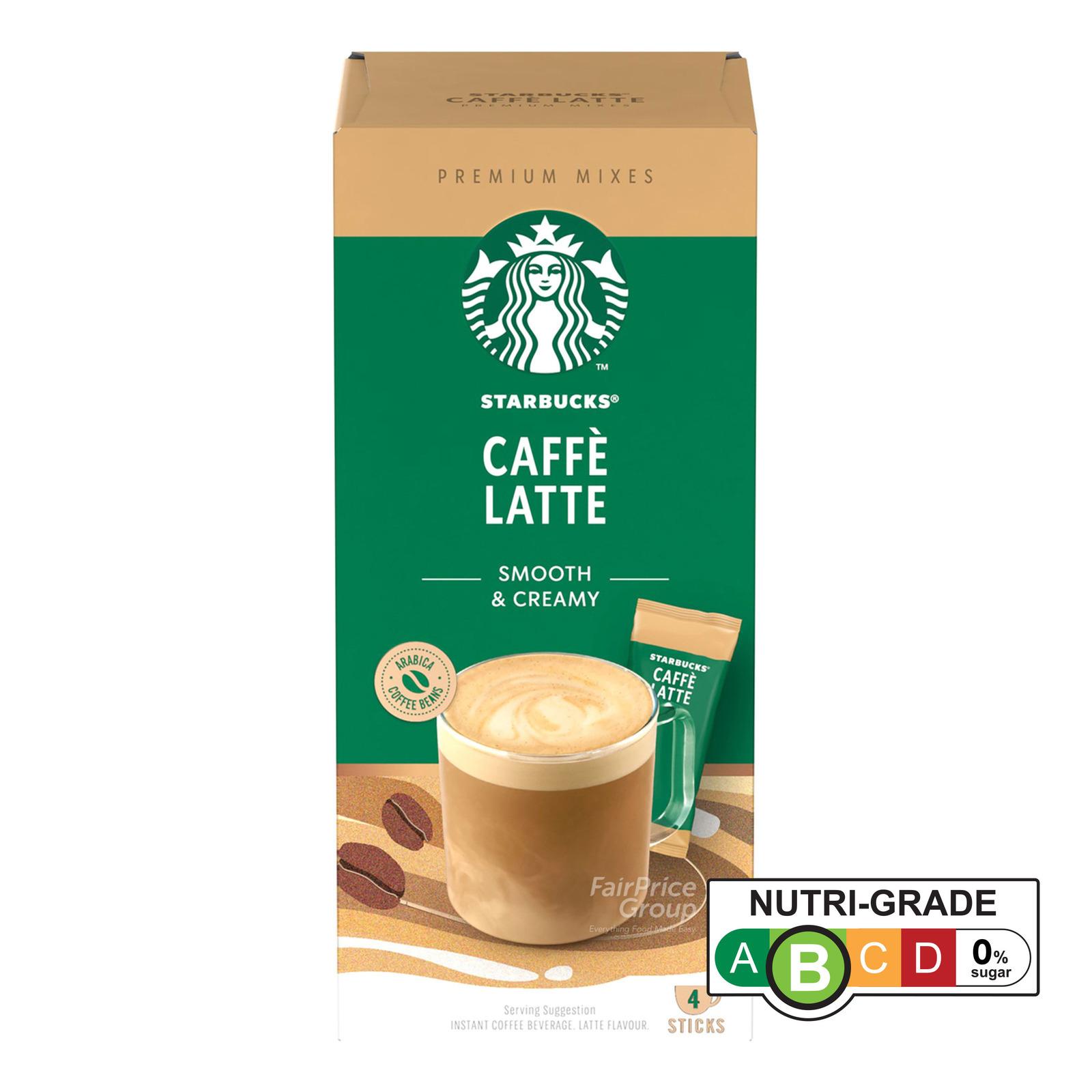 Starbucks Instant Premium Mixes - Caffe Latte
