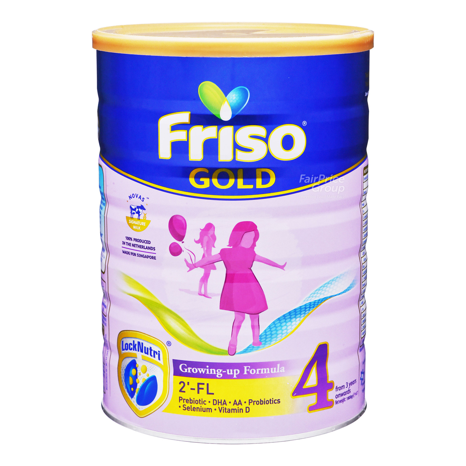 Friso Gold Growing Up Milk Formula - Stage 4