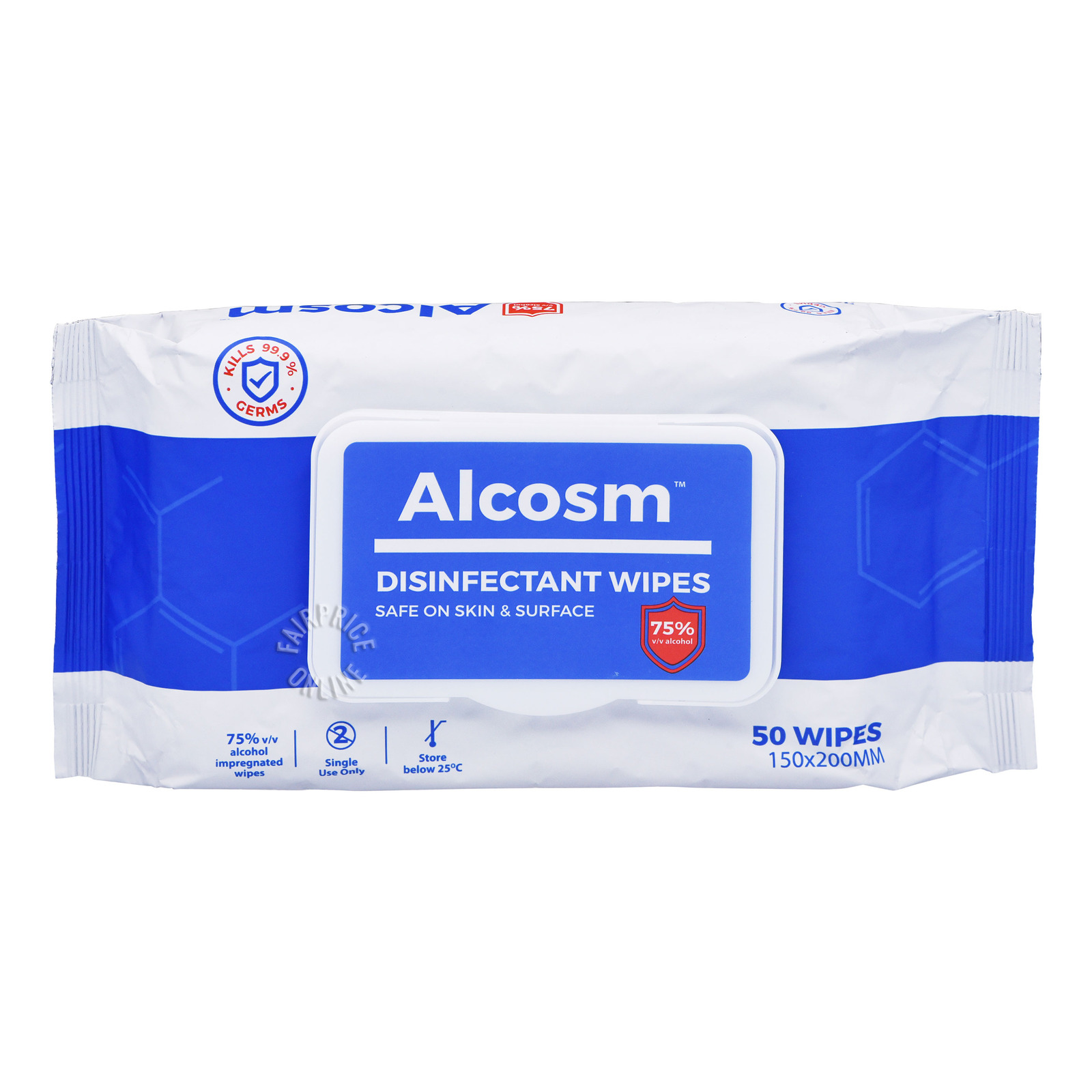 Alcosm Disinfectant Wipes