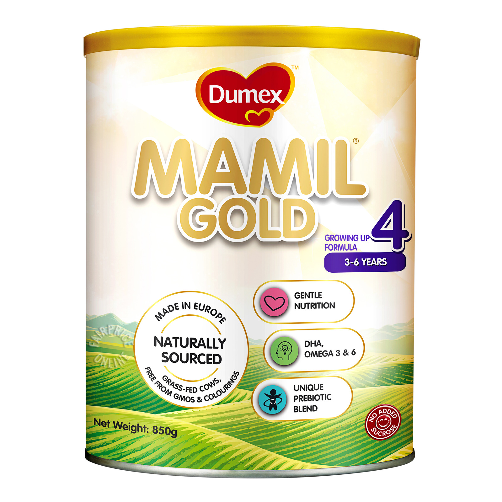 Dumex Mamil Gold Stage 3 Growing Up Baby Milk Formula