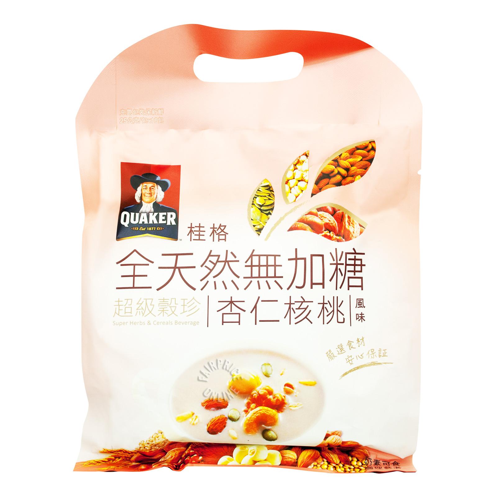Quaker Super Herbs & Cereals Beverage - Almond