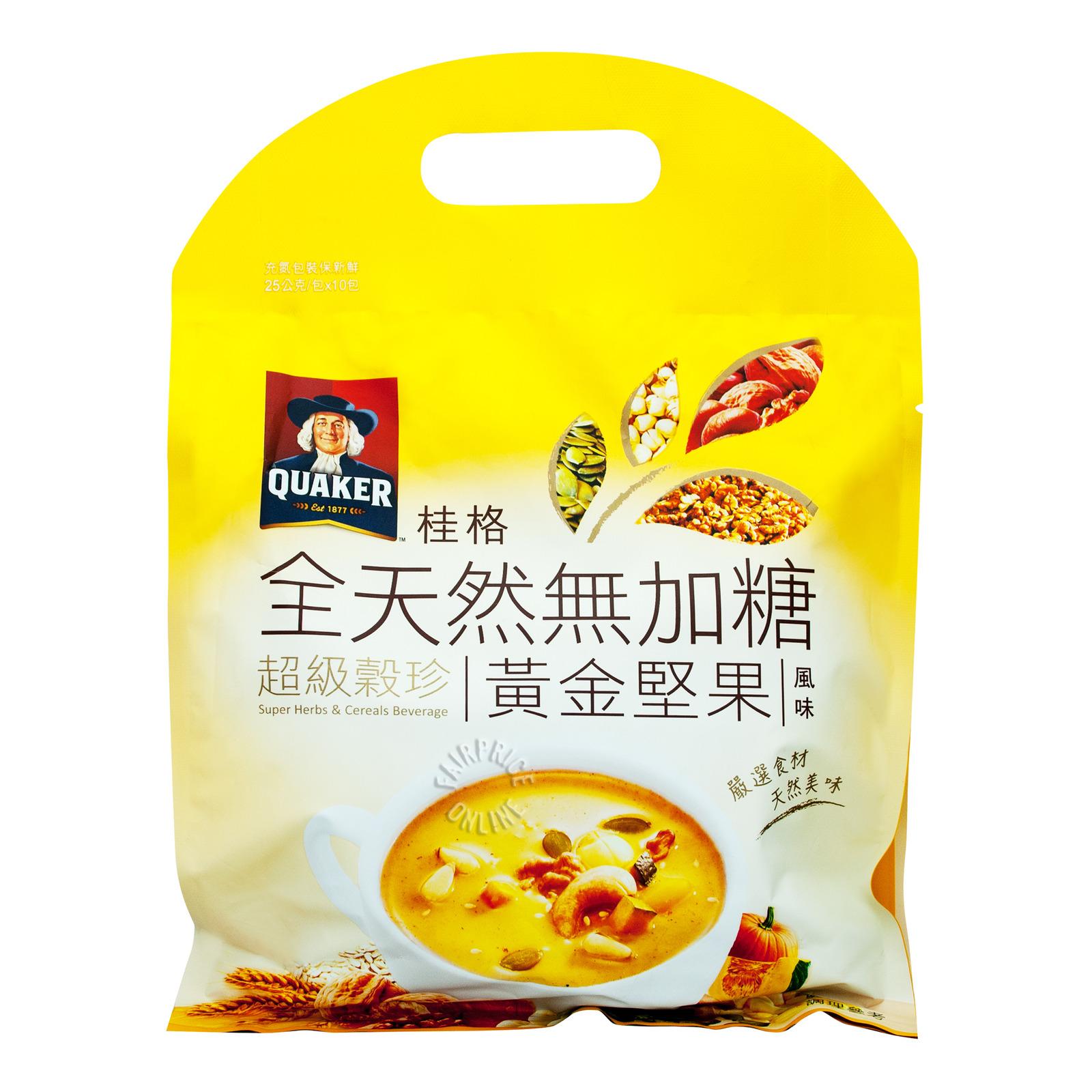 Quaker Super Herbs & Cereals Beverage - Nuts