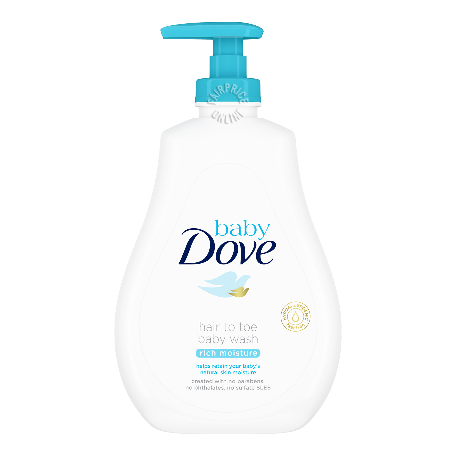Dove Baby Hair to Toe Baby Wash - Rich Moisture