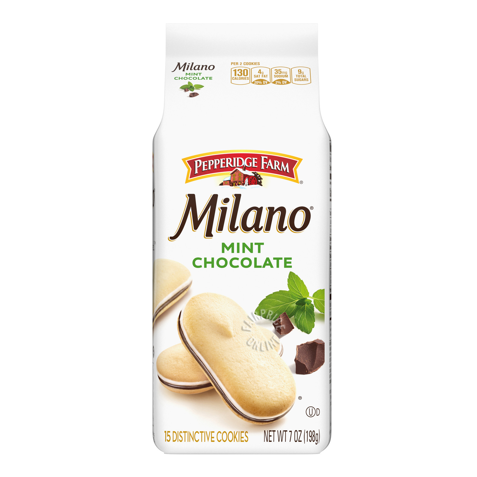 PEPPERIDGE FARM Milano Cookies - Orange Chocolate 198g