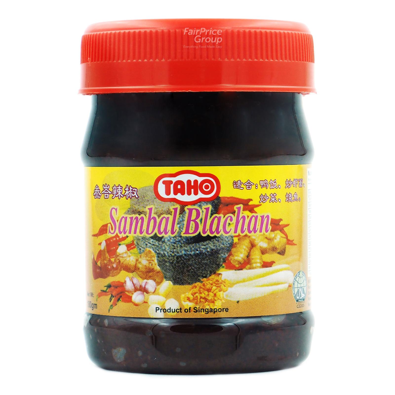 Taho Sambal Blachan Chili
