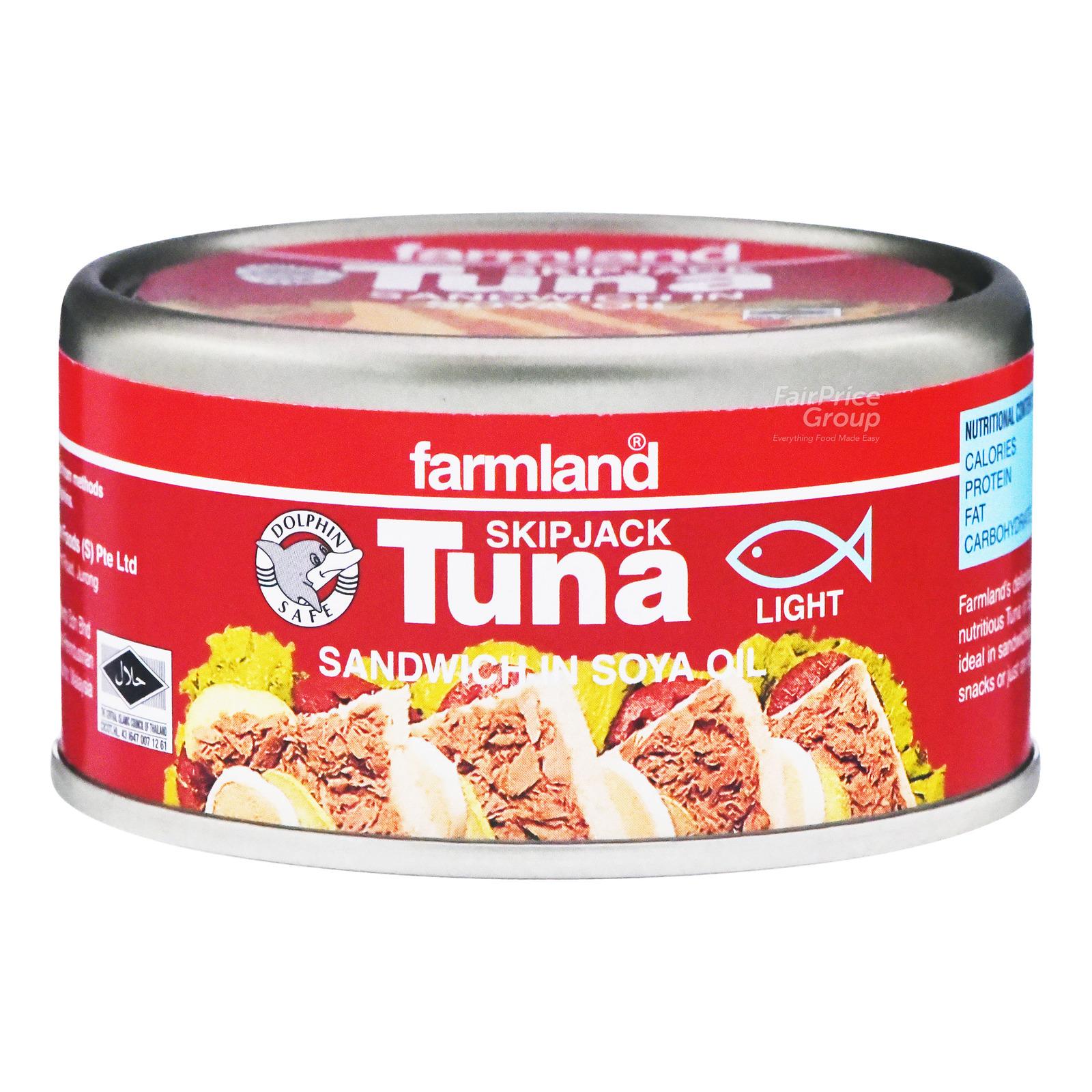 Farmland Skipjack Tuna - Sandwich in Soya Oil