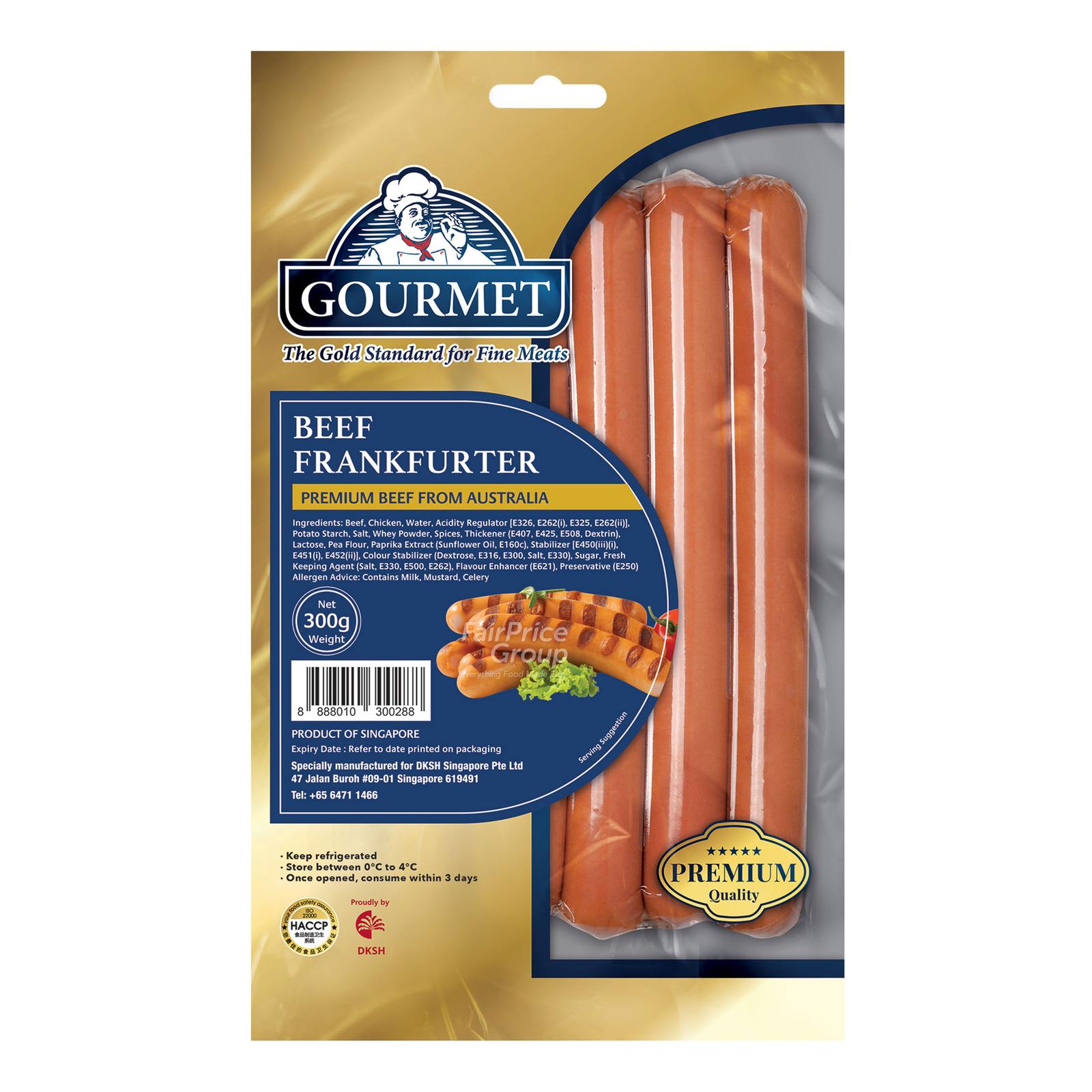 Gourmet Frankurters - Beef