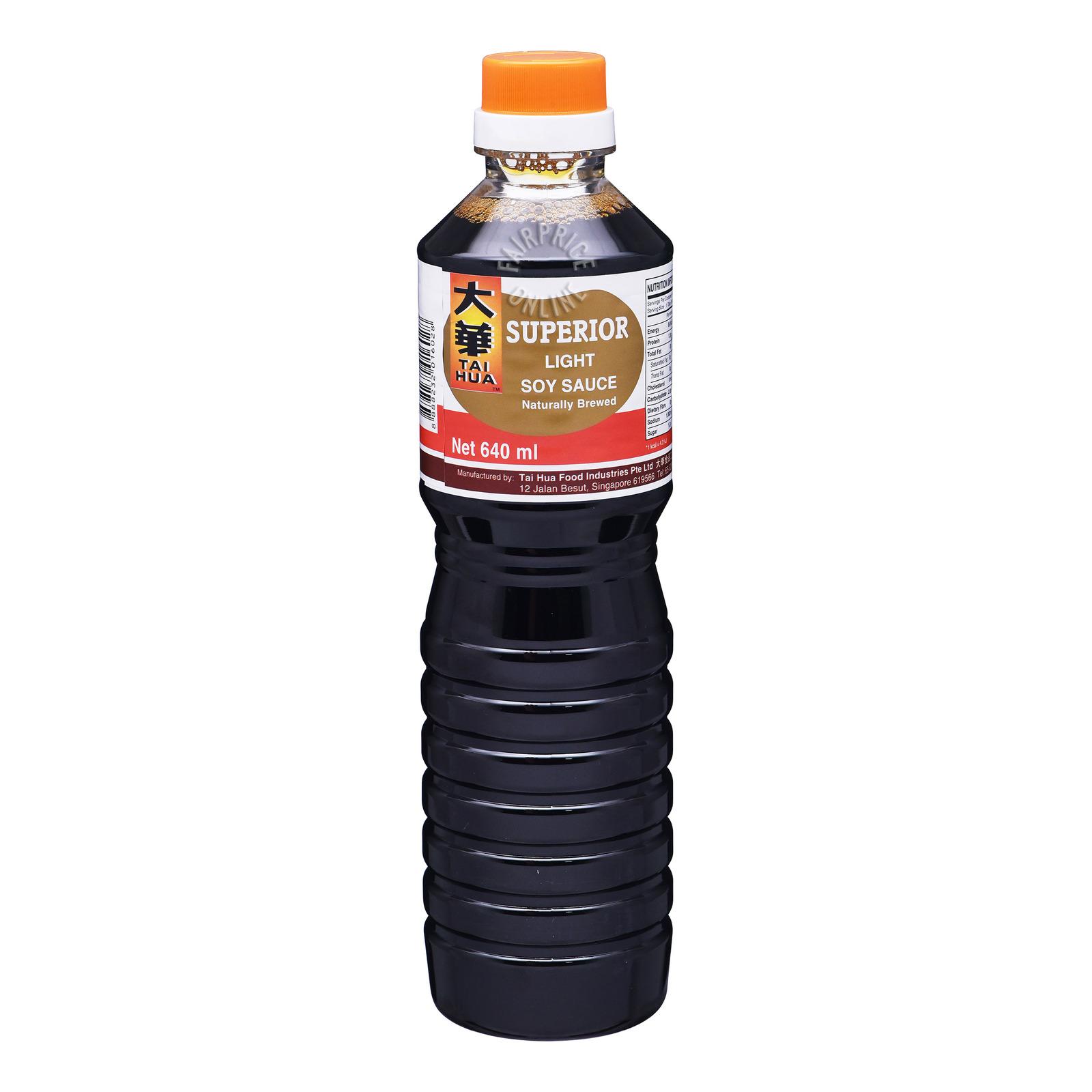 Tai Hua Light Soy Sauce - Superior