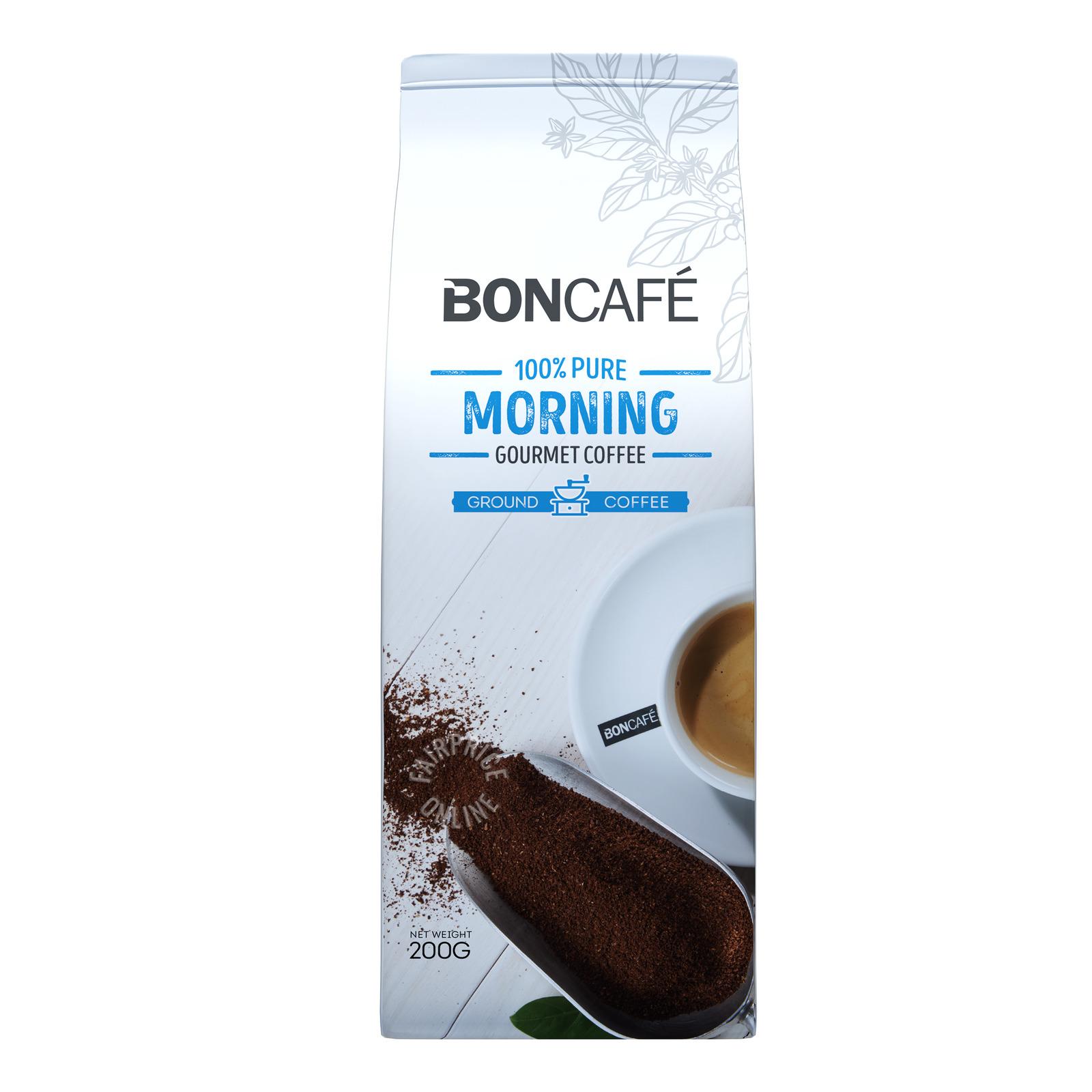 Boncafe Ground Coffee Powder - Morning