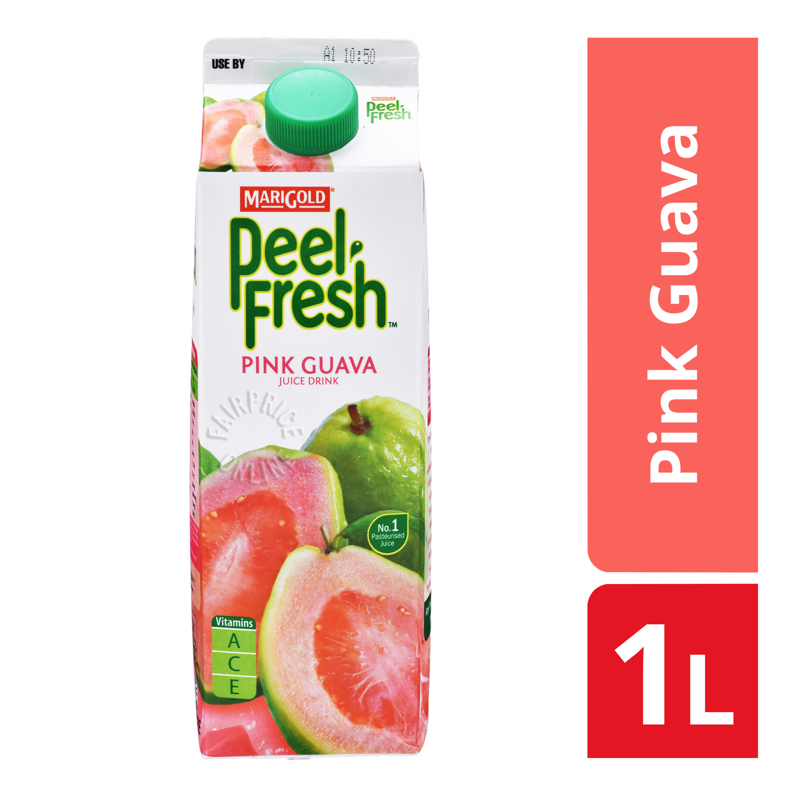 Marigold Peel Fresh Juice - Pink Guava