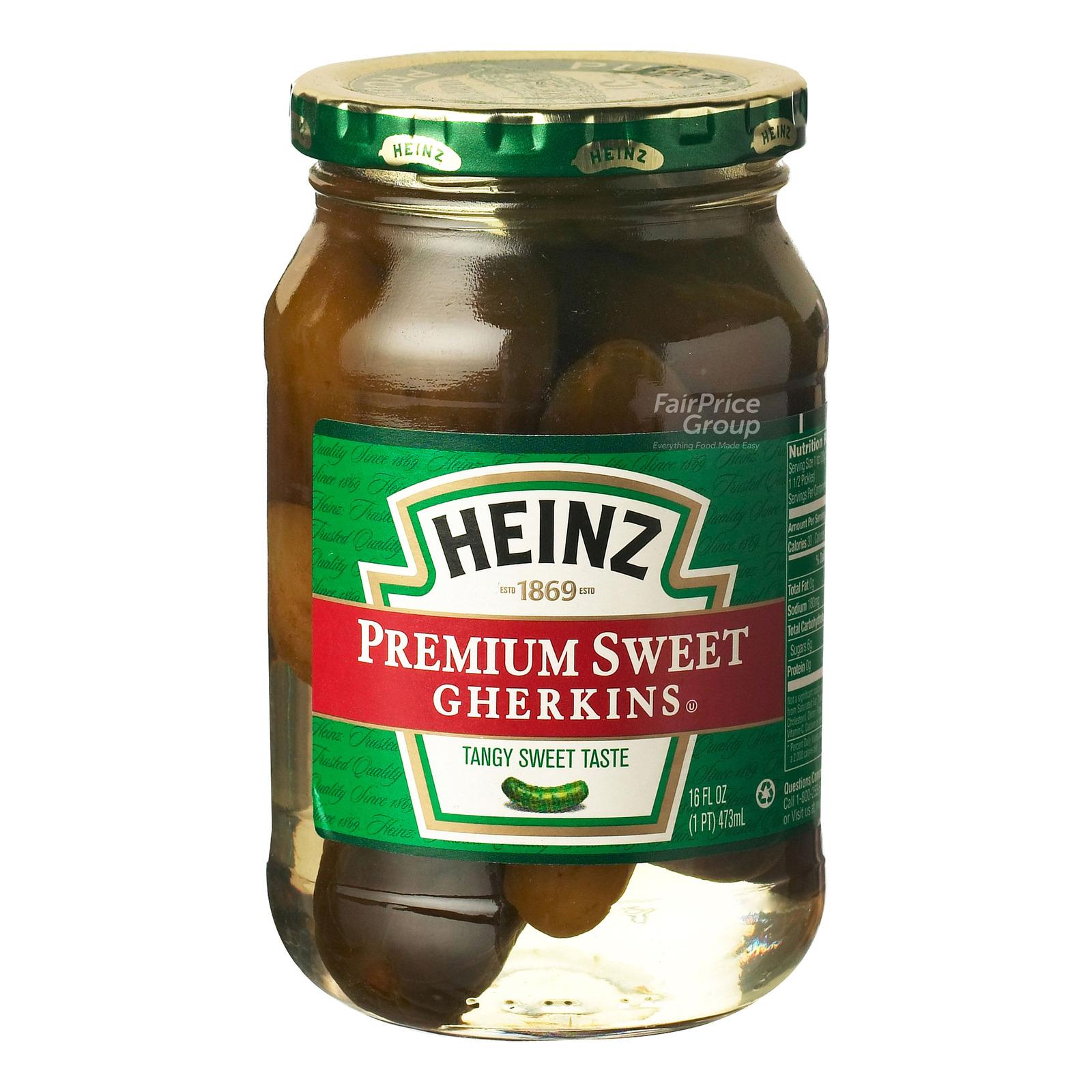 Heinz Premium Sweet Gherkins - Tangy Sweet