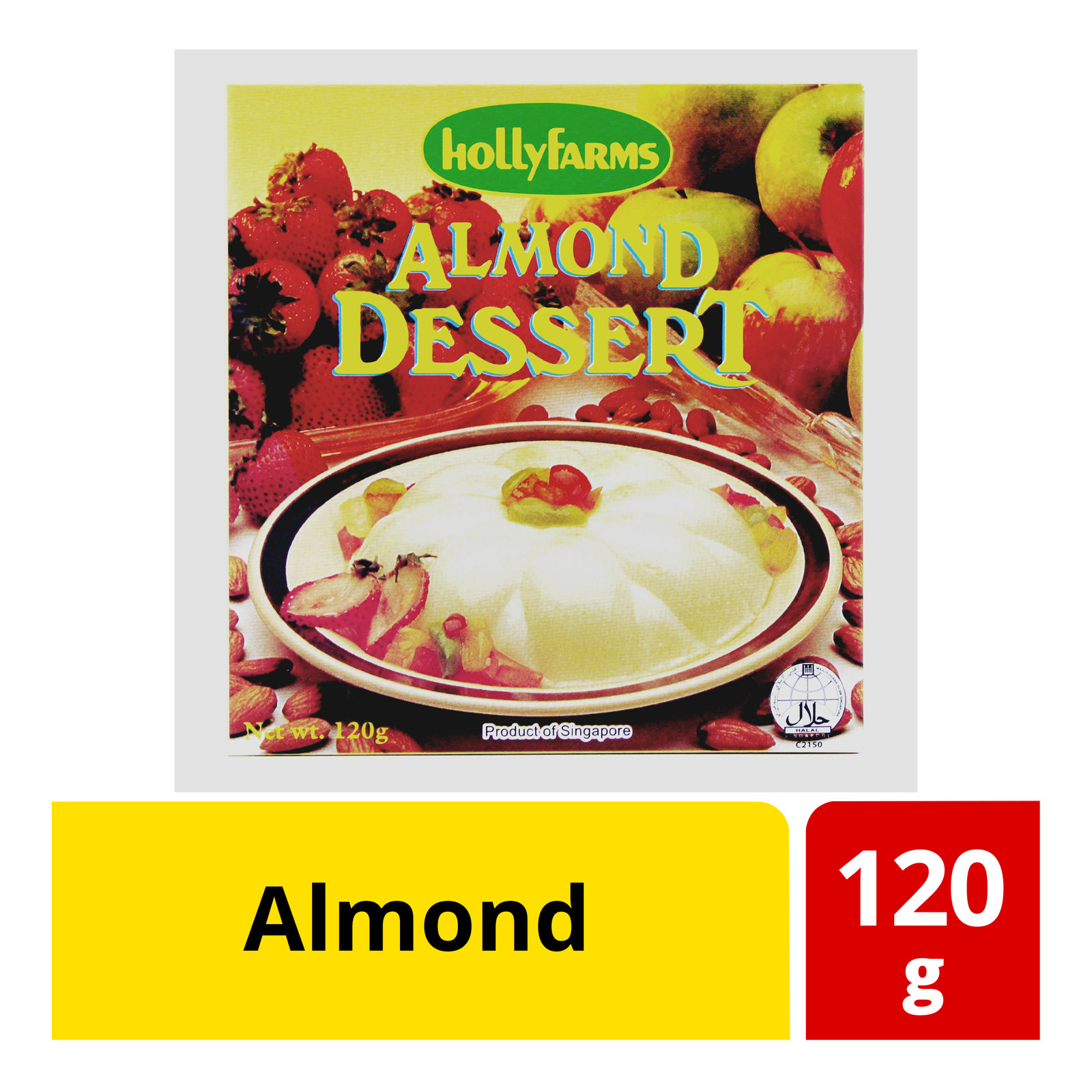 Hollyfarms Instant Dessert Powder - Almond