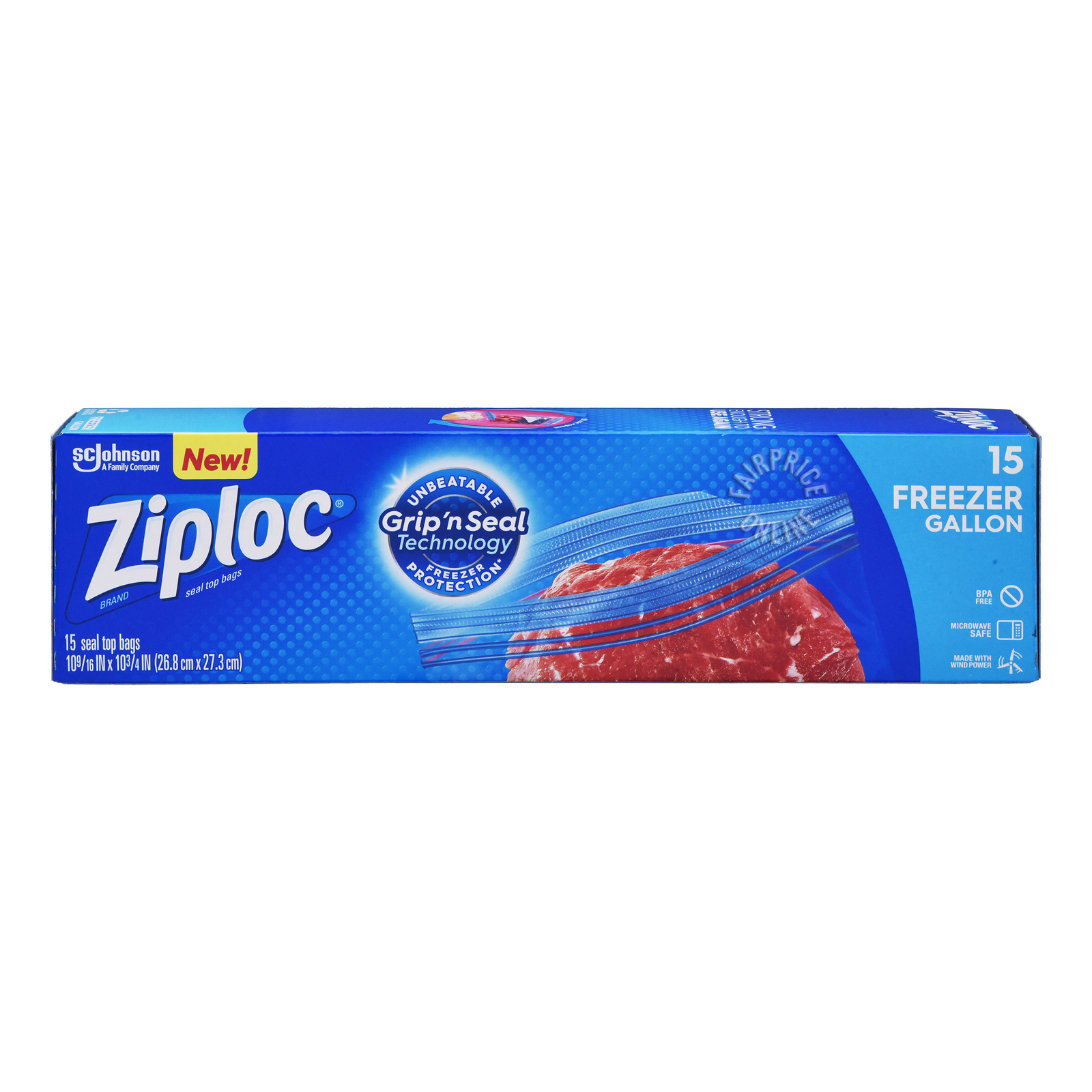 Ziploc Freezer Bags - Gallon