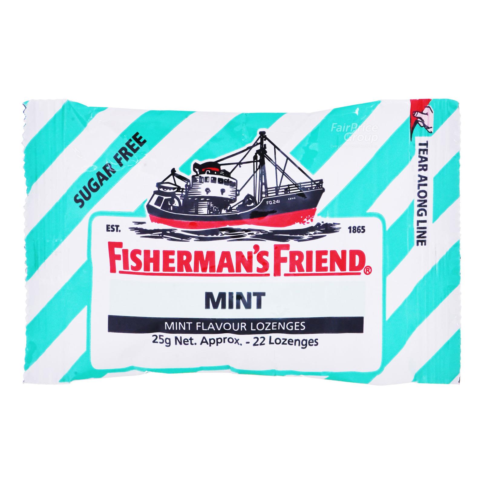 Fisherman's Friend Sugar Free Lozenges - Mint