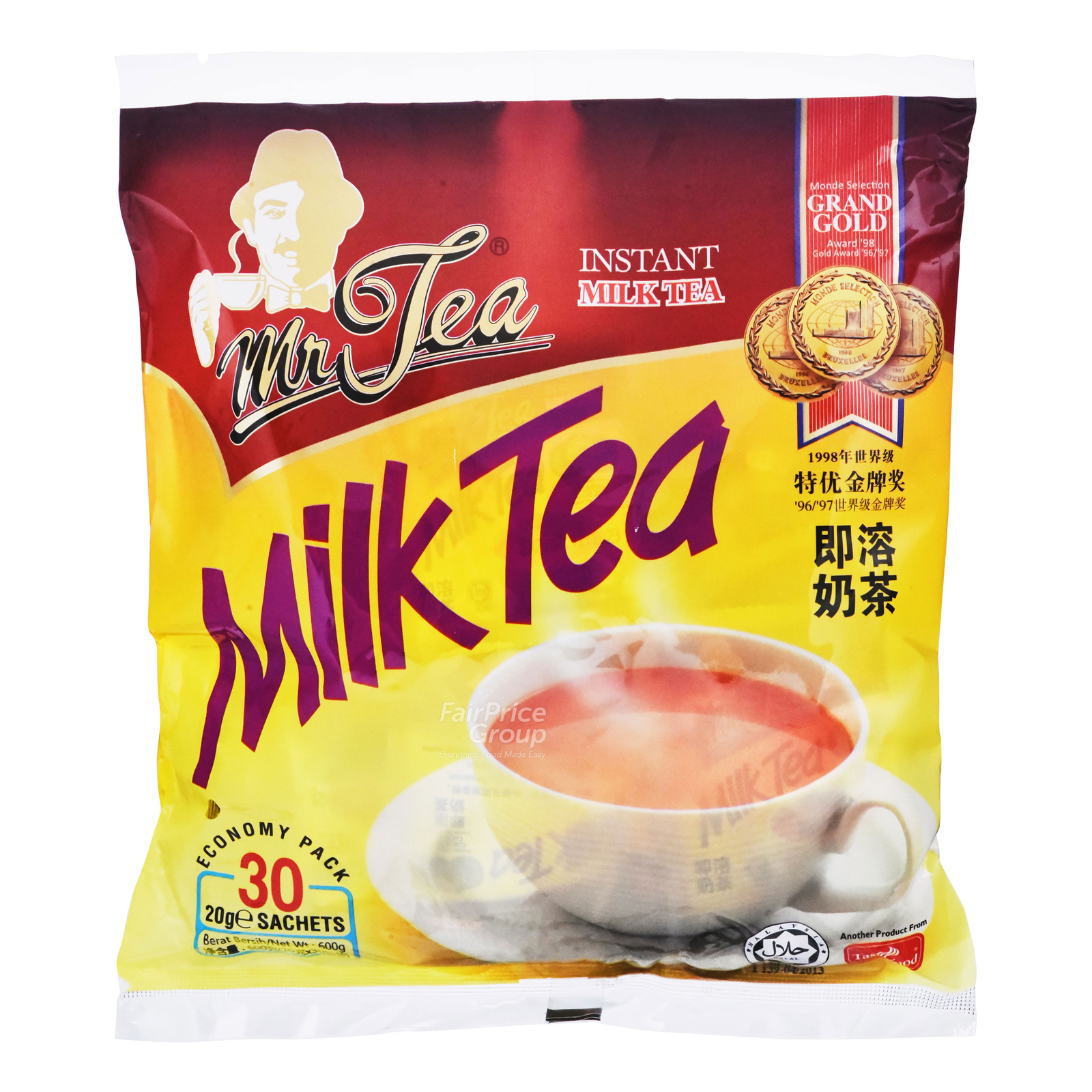 MR TEA 3In1 Milk Tea 30sX20g