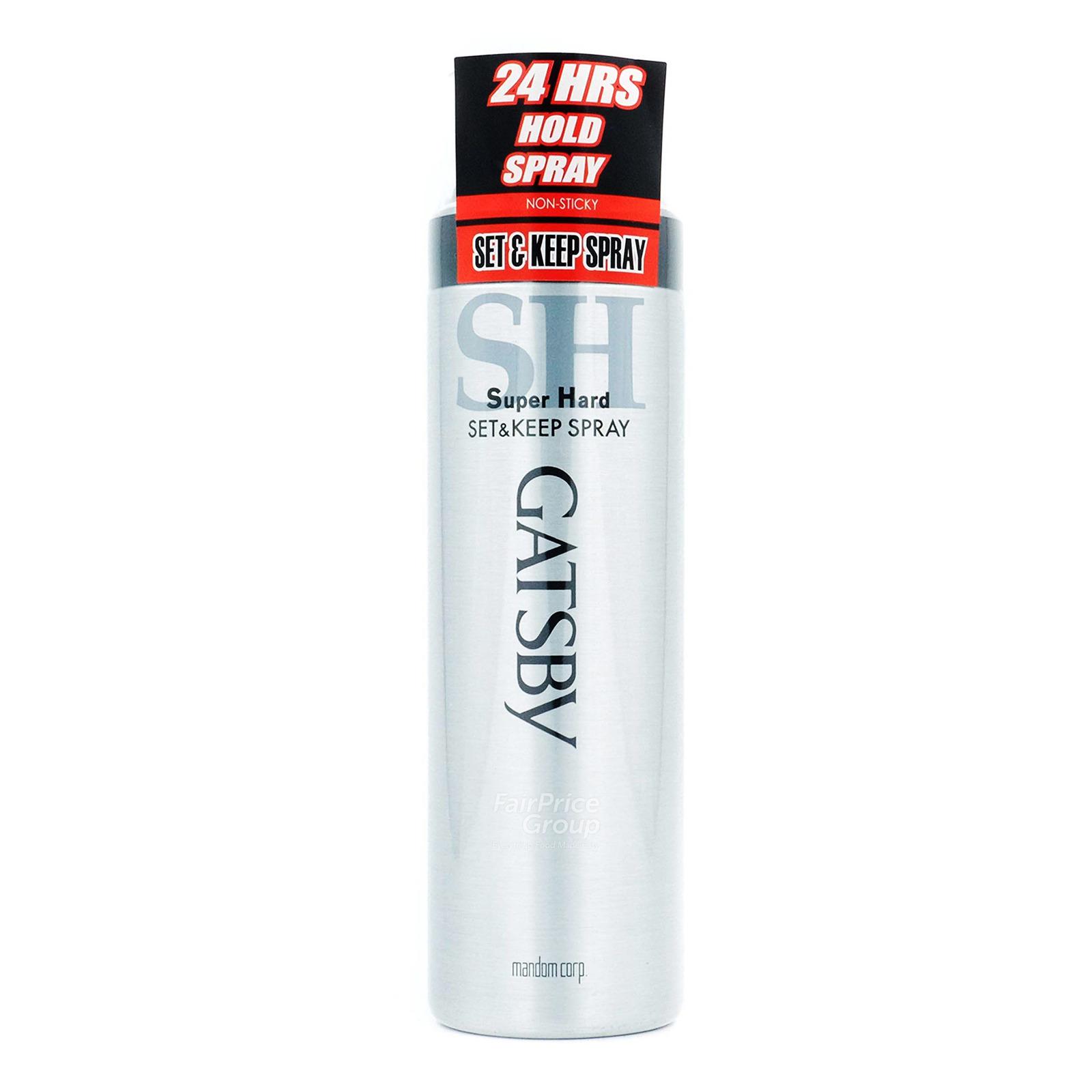 Gatsby Set & Keep Spray - Super Hard