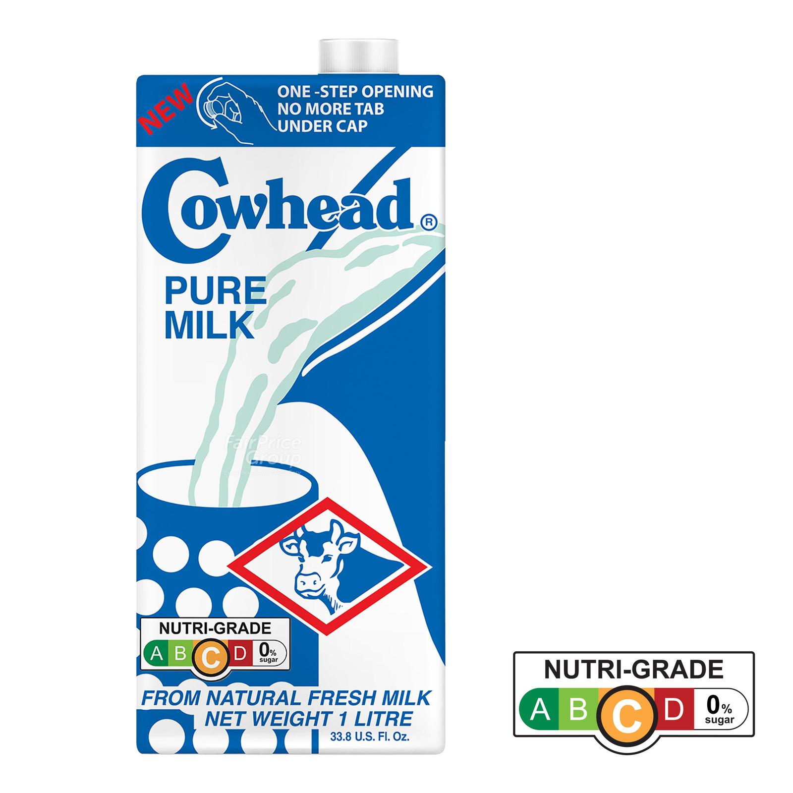 Cowhead UHT Milk - Pure Milk