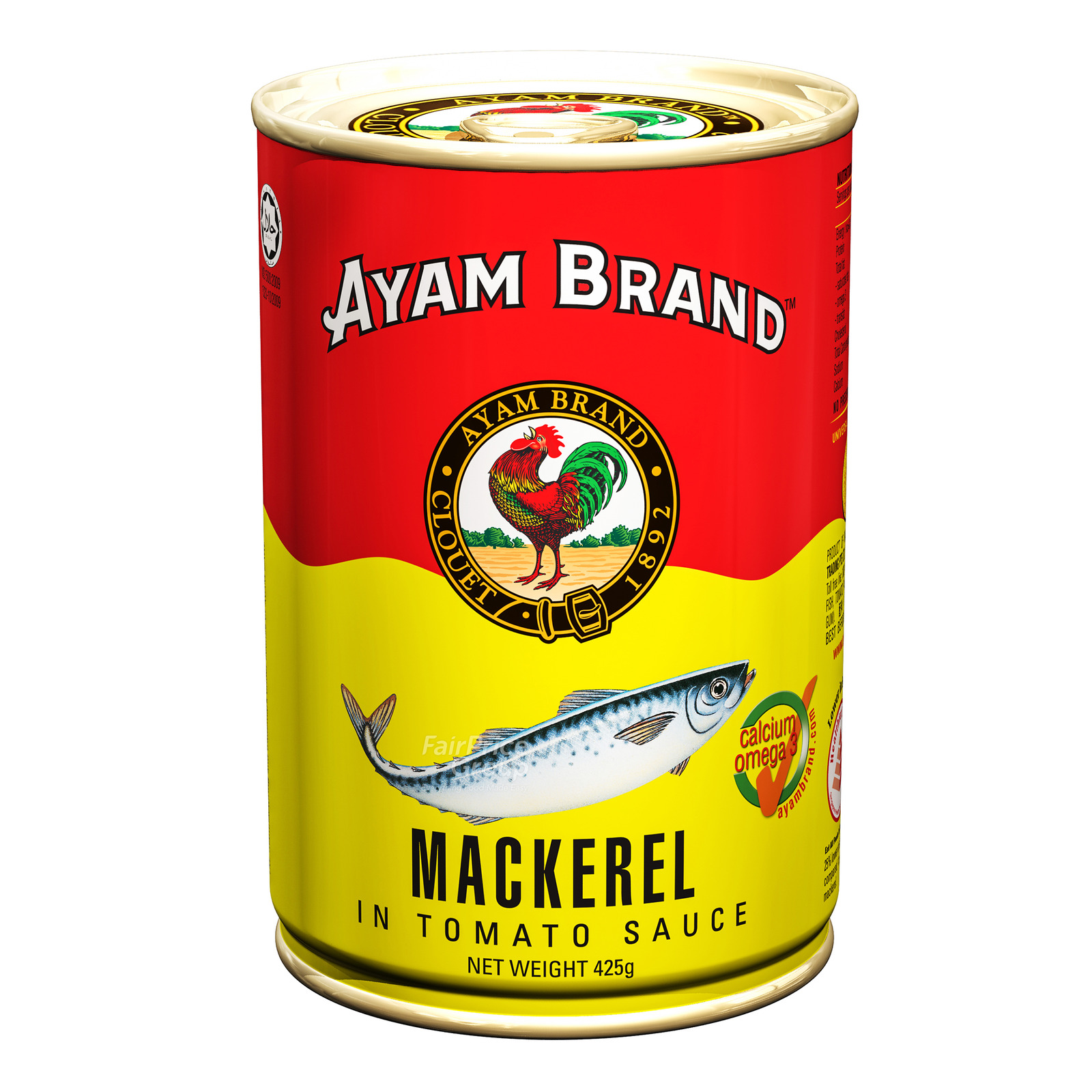 Ayam Brand Mackerel in Tomato Sauce
