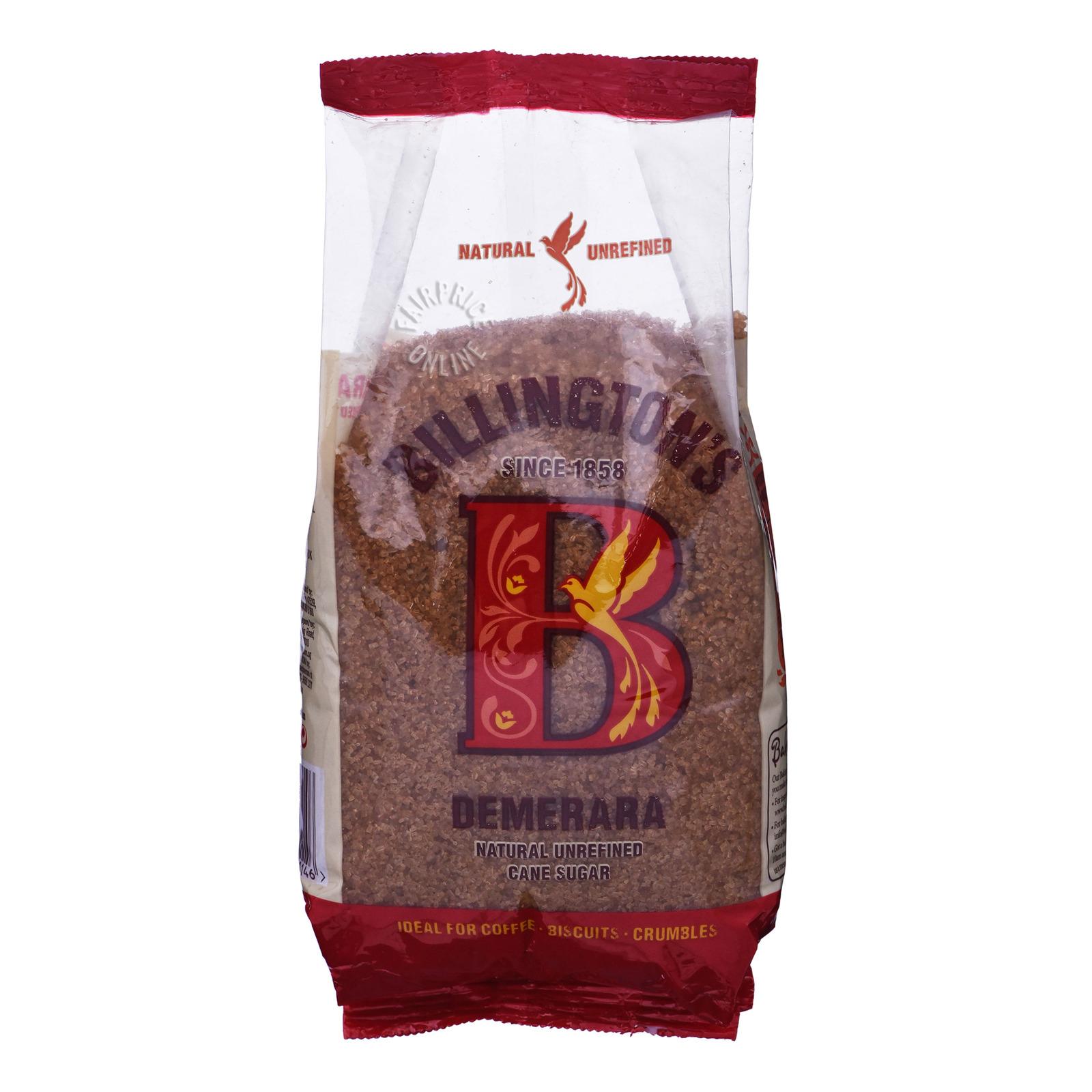 BILLINGTON Natural Unrefined Cane Sugar - Demerara 1kg