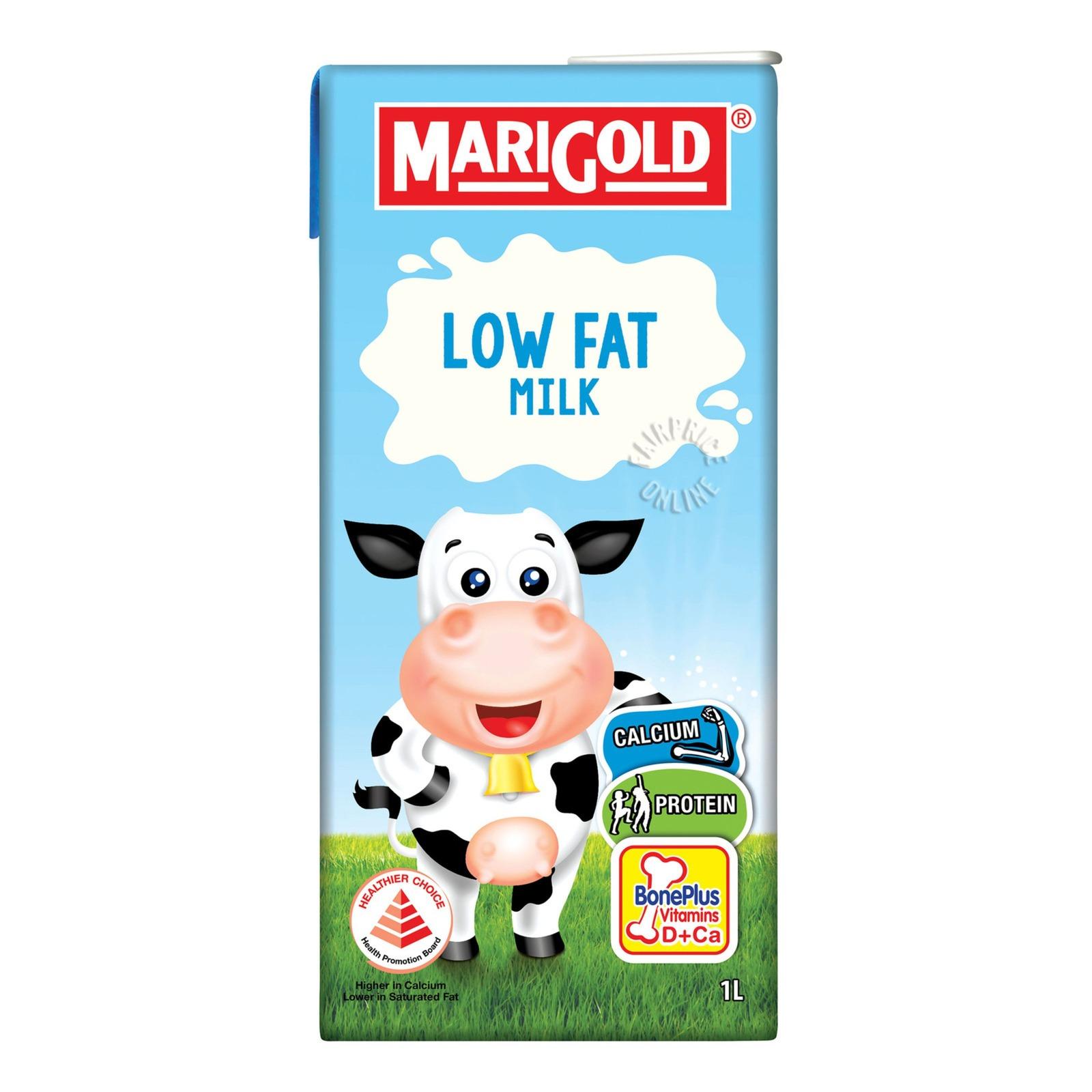 Marigold UHT Packet Milk - Low Fat