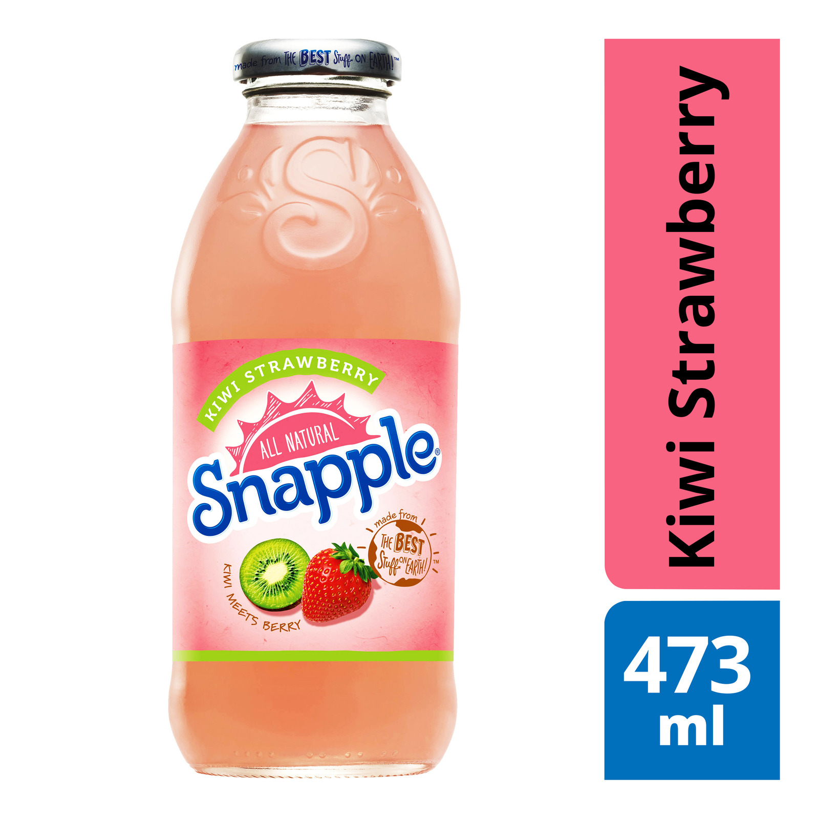 Snapple Bottle Drink - Kiwi Strawberry