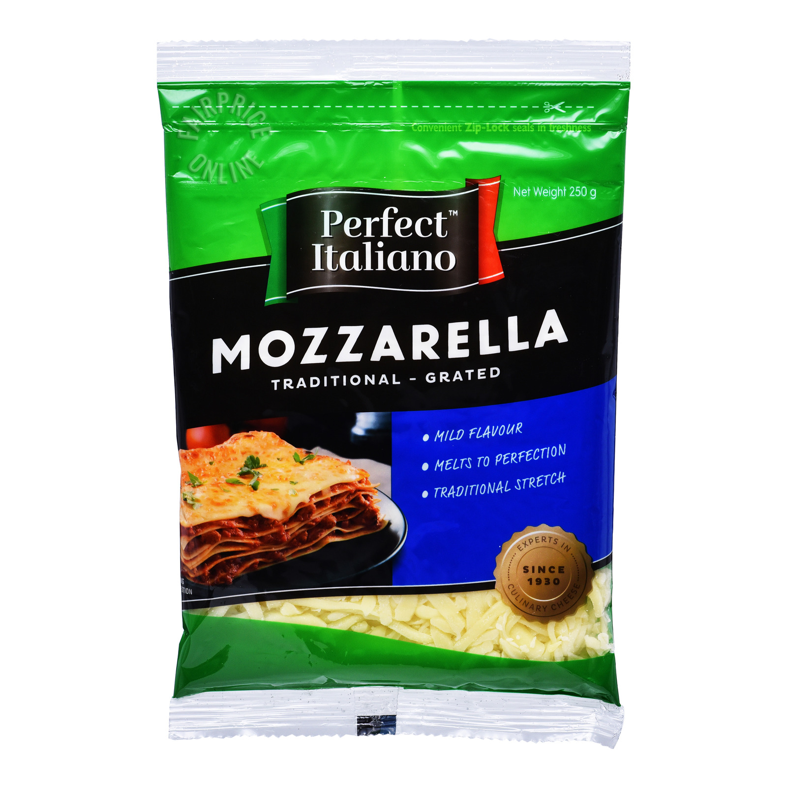 Perfect Italiano Cheese - Mozzarella (Grated)