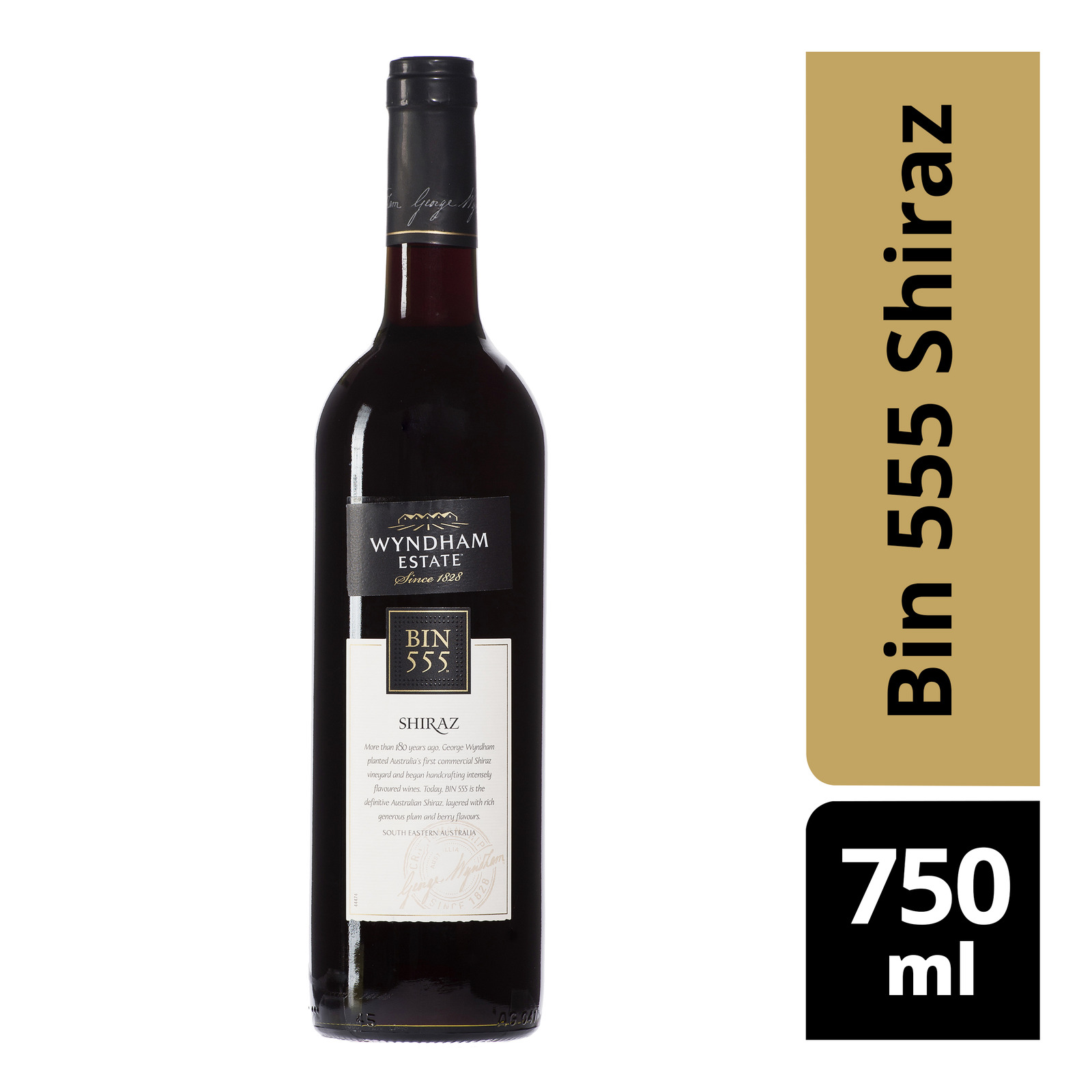 Wyndham Estate Red Wine - Bin 555 Shiraz