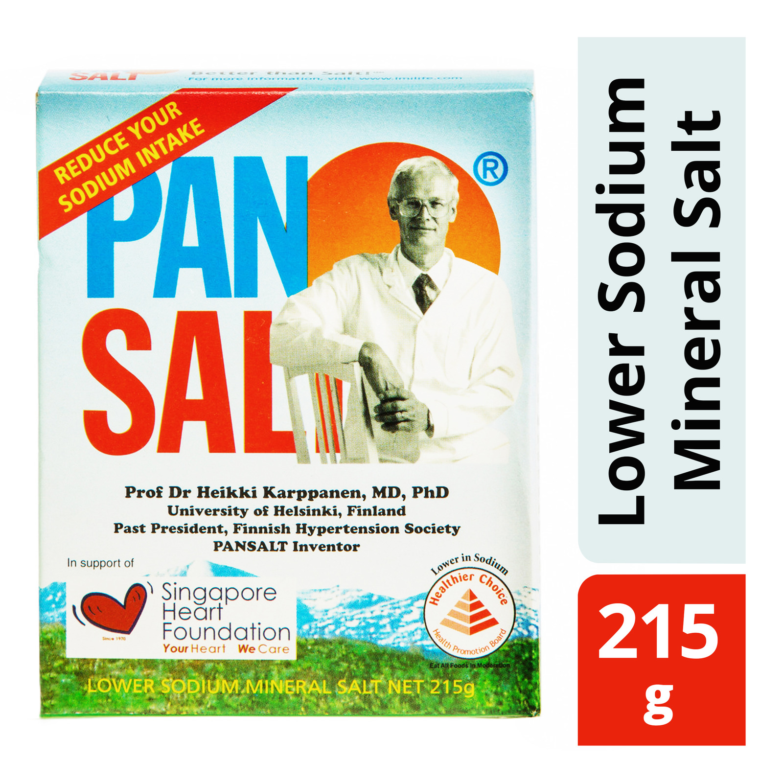 Pansalt Lower Sodium Mineral Salt
