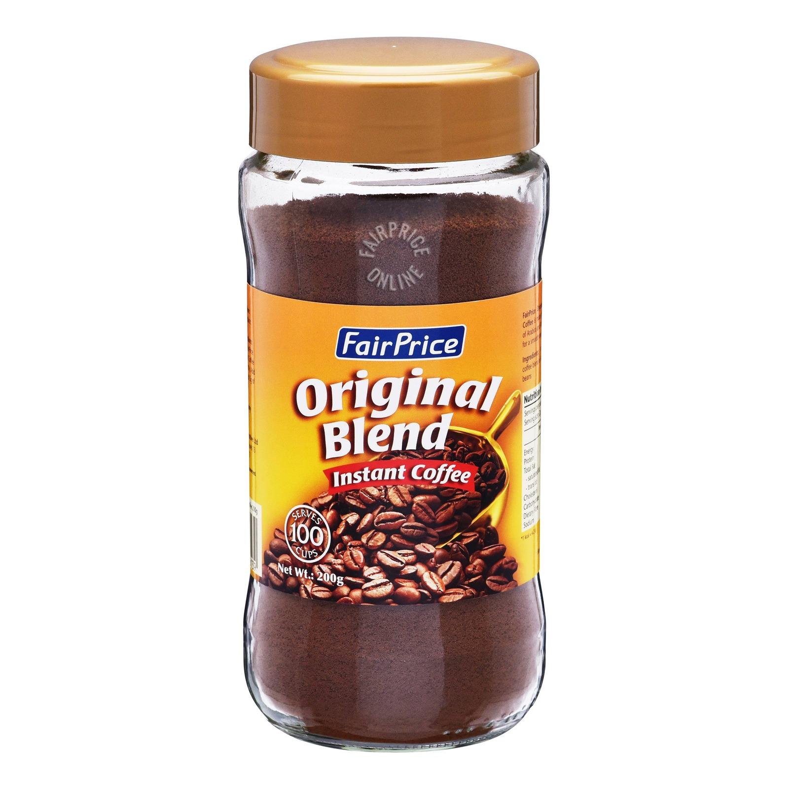 FairPrice Instant Coffee Powder Jar - Original Blend