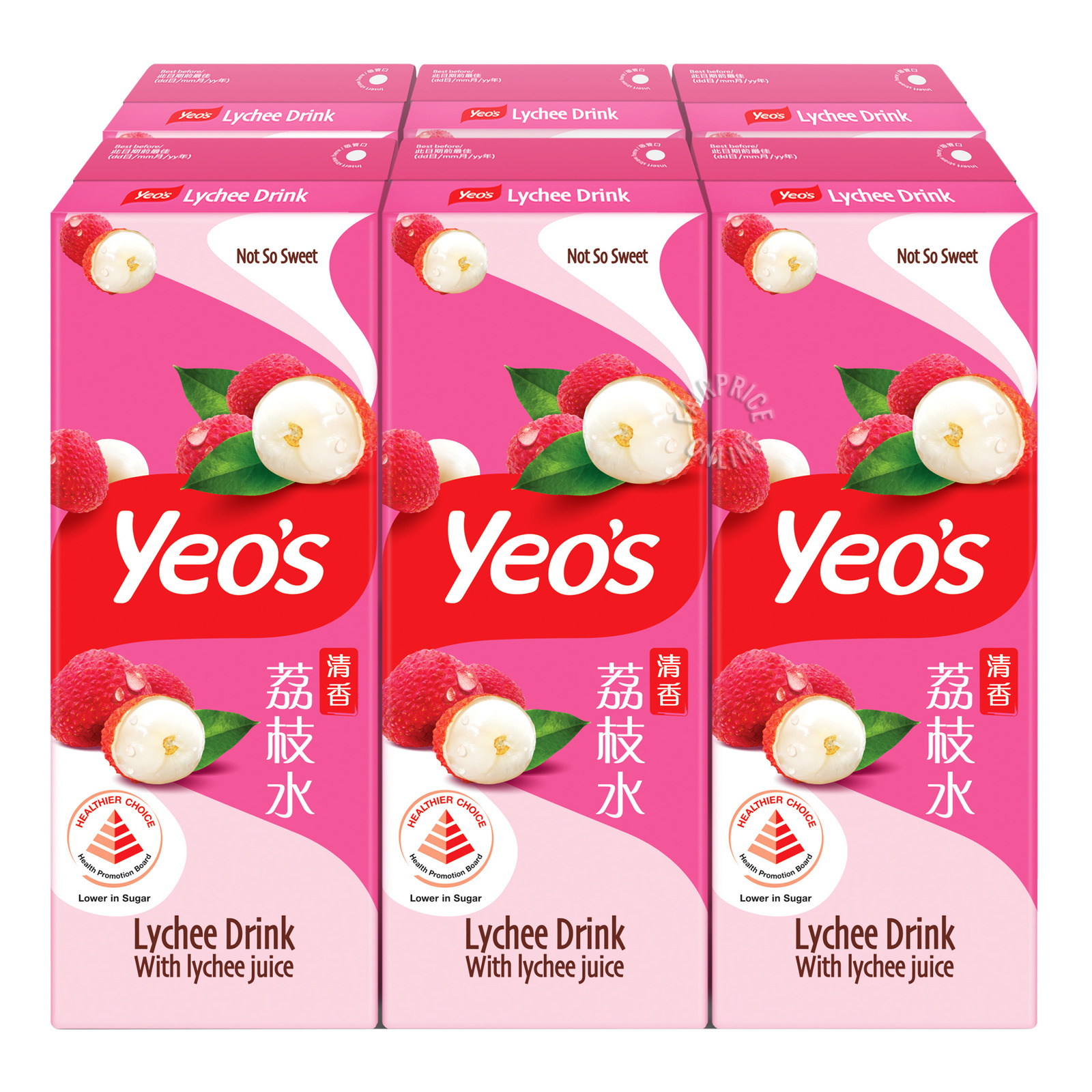 Yeo's Packet Drink - Lychee