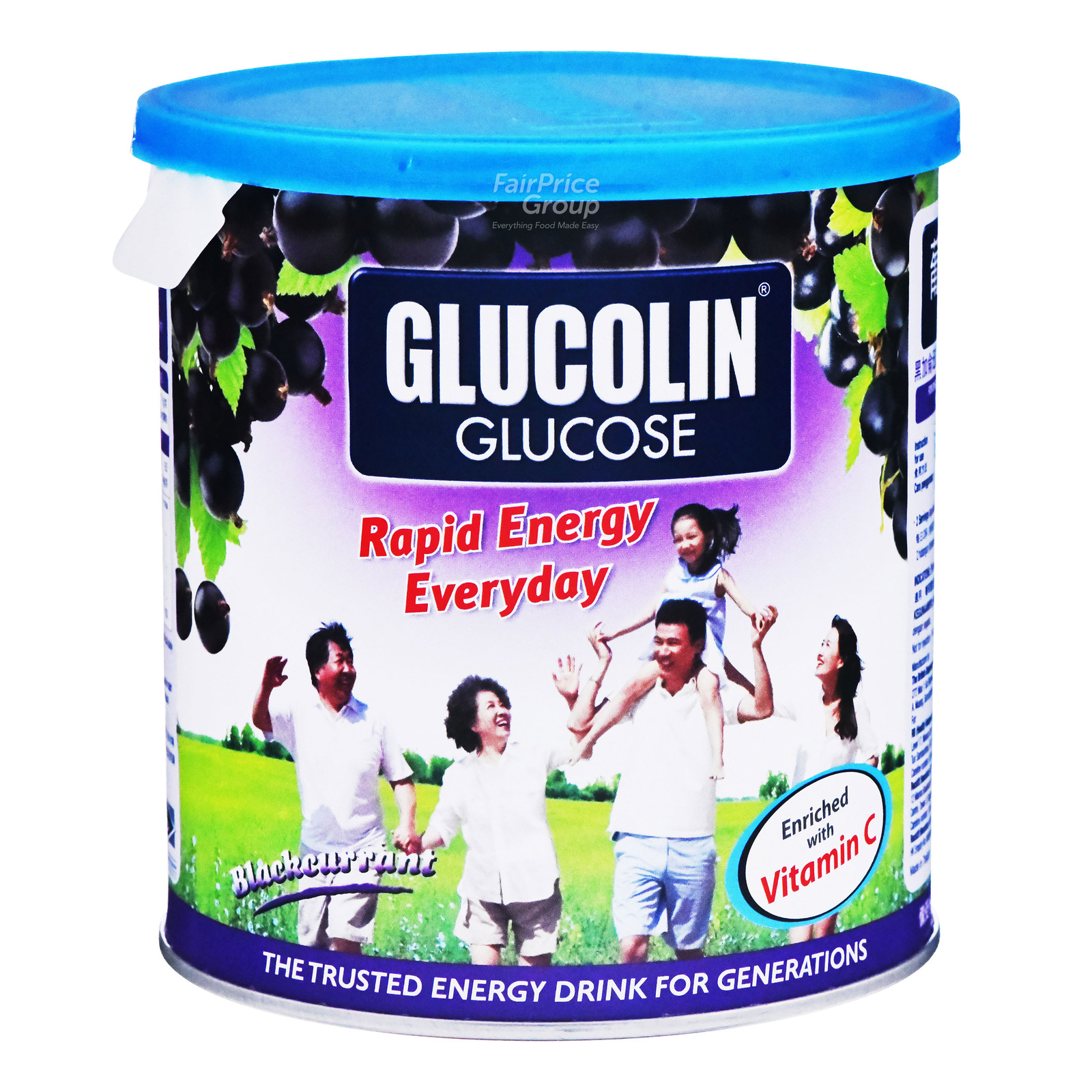Glucolin Glucose - Blackcurrant