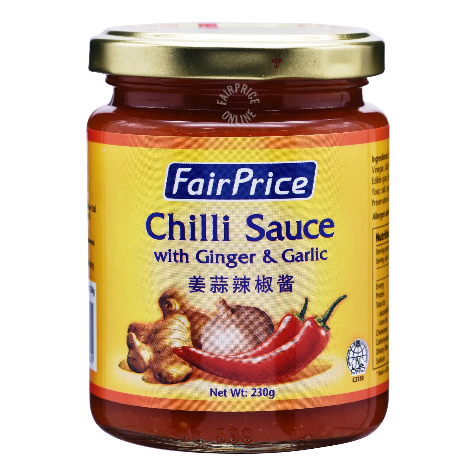 FairPrice Chili Sauce - Ginger and Garlic