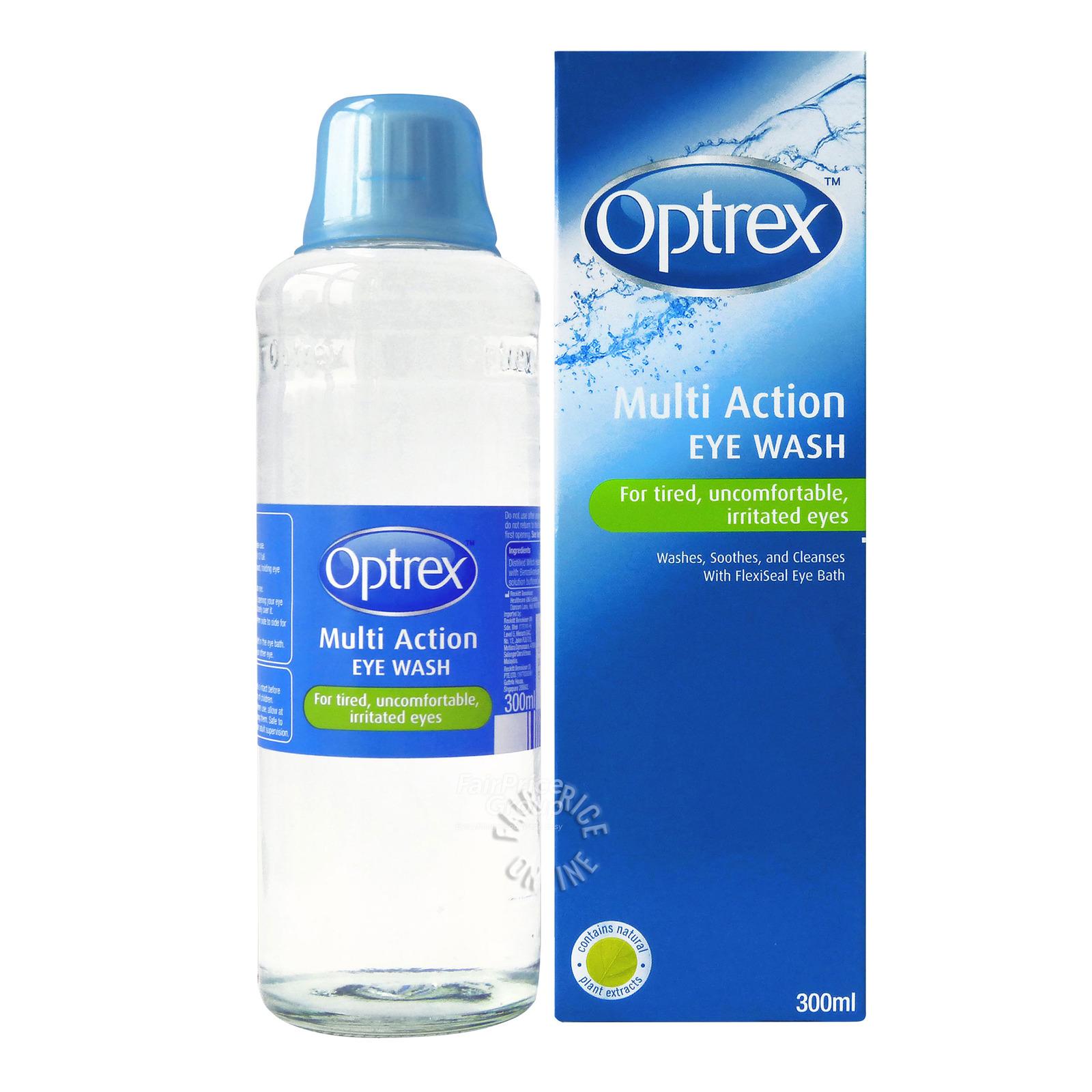 Optrex Eye Lotion with Eye Bath