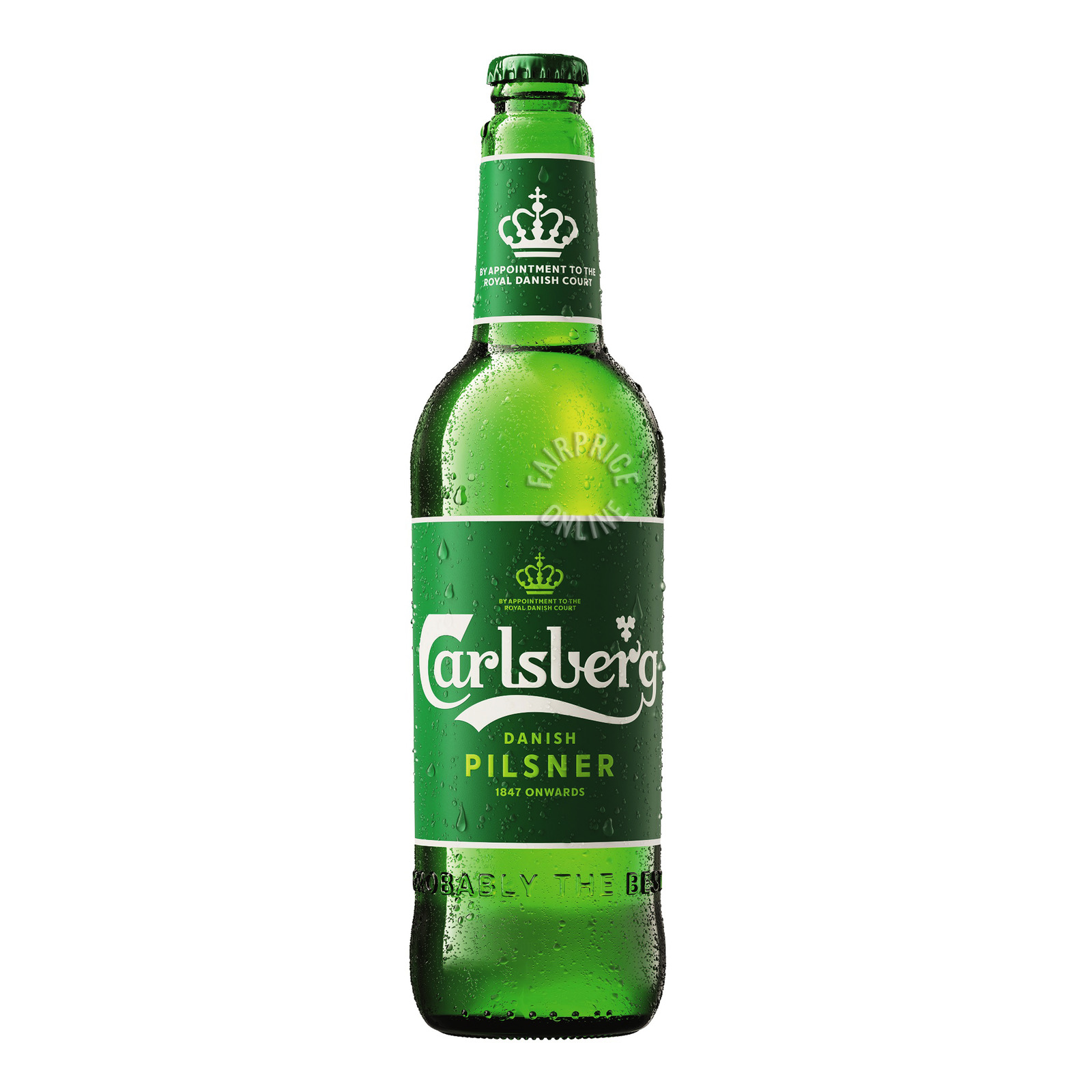 CARLSBERG Green Label Beer Pint Bottle 640ml