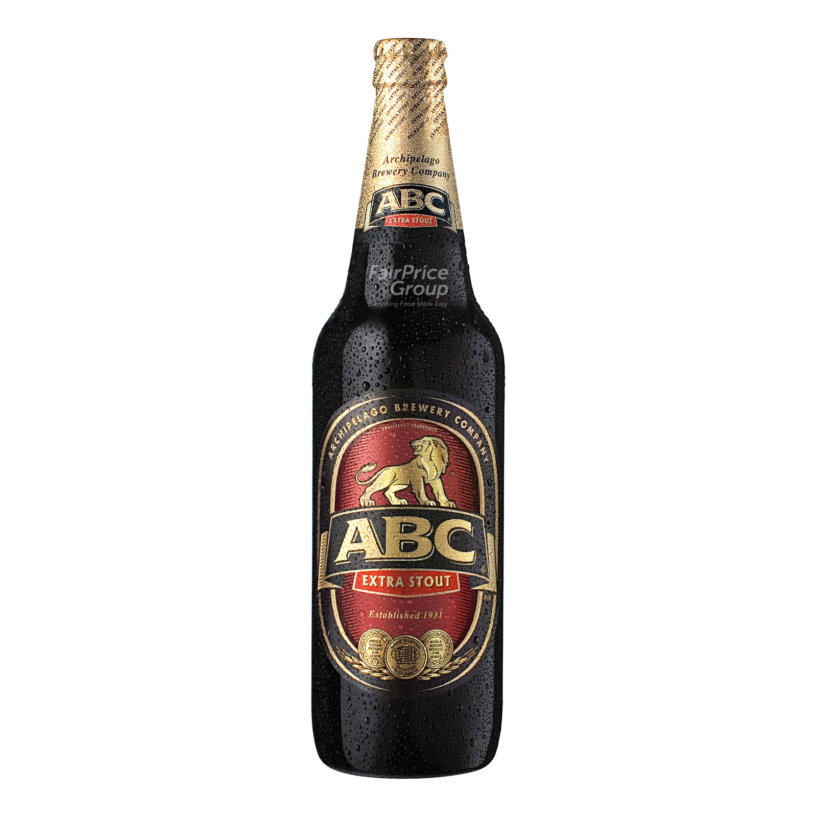 ABC Extra Stout Beer Pint Bottle 633ml