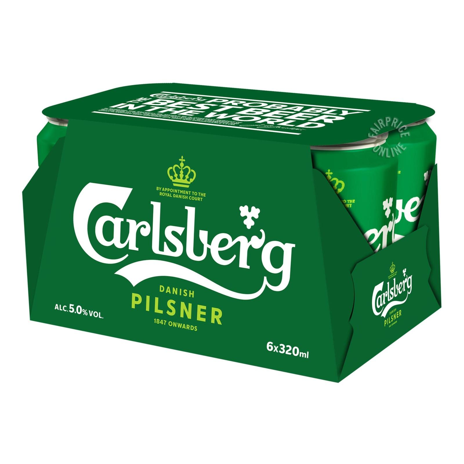 Carlsberg Can Beer - Green Label